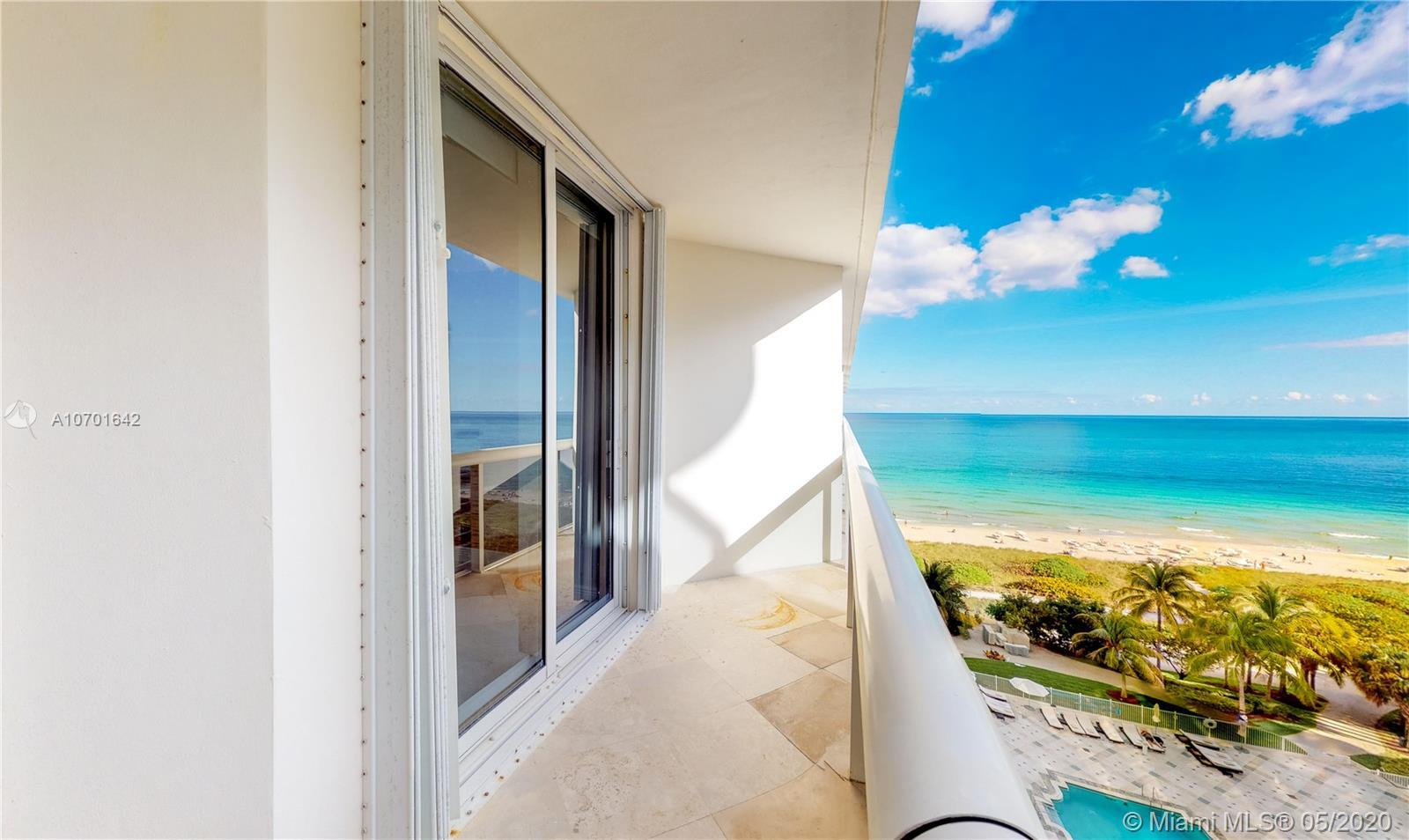 PRISTINE LOCATION LUXURY Oceanfront Building.Exceptional Solimar North condo in Surfside . Perfect o
