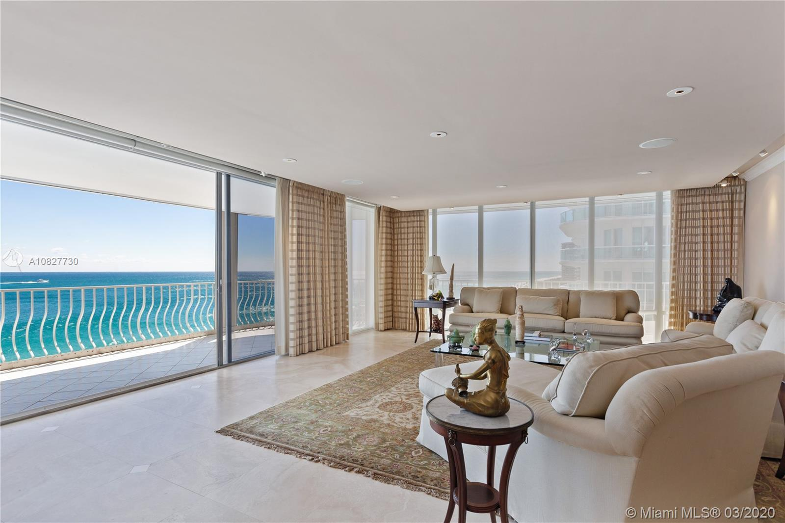 Ultra-elegant 3 bedrooms & 3.5 bath home with breathtaking direct ocean views. This residence boasts