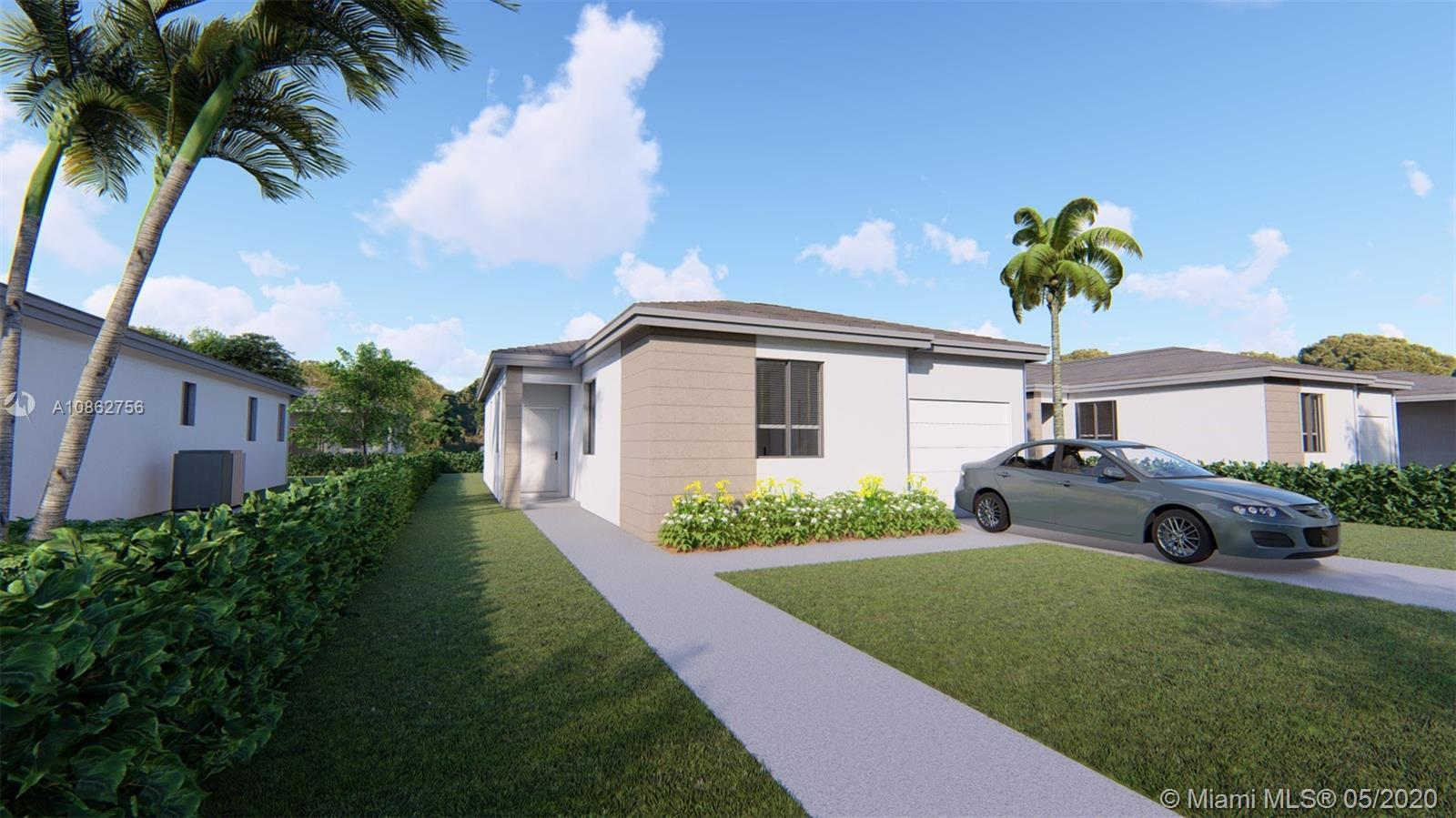 BE THE FIRST ONE TO MOVE INTO THIS AMAZING BRAND NEW CONSTRUCTION! 3 BEDROOMS 2 BATHS, ONE CAR GARAG