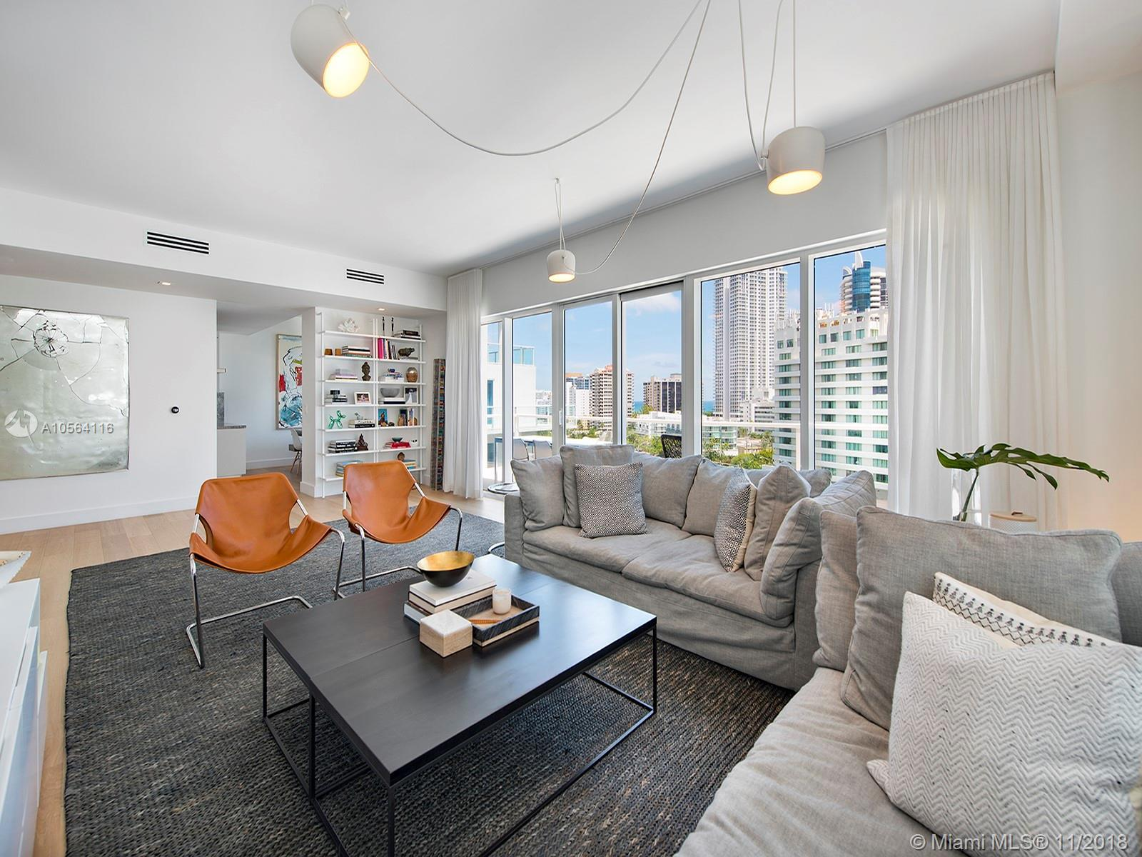 Breathtaking ocean, intracoastal and Miami Skyline views from this tastefully remodeled corner unit