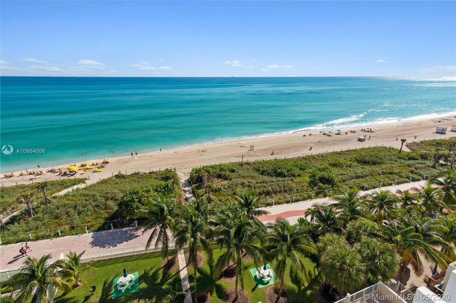 BEAUTIFUL 2/2 OCEANFRONT APT WITH SPECTACULAR VIEWS. NEWLY REMOLDED KITCHEN ONLY 3 UNITS PER FLOOR.
