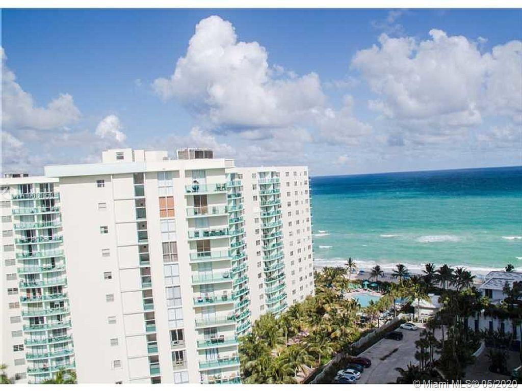 Gorgeous renovated 2 bed 1.5 bath condo on Hollywood Beach. The building has a gym, pool, conference