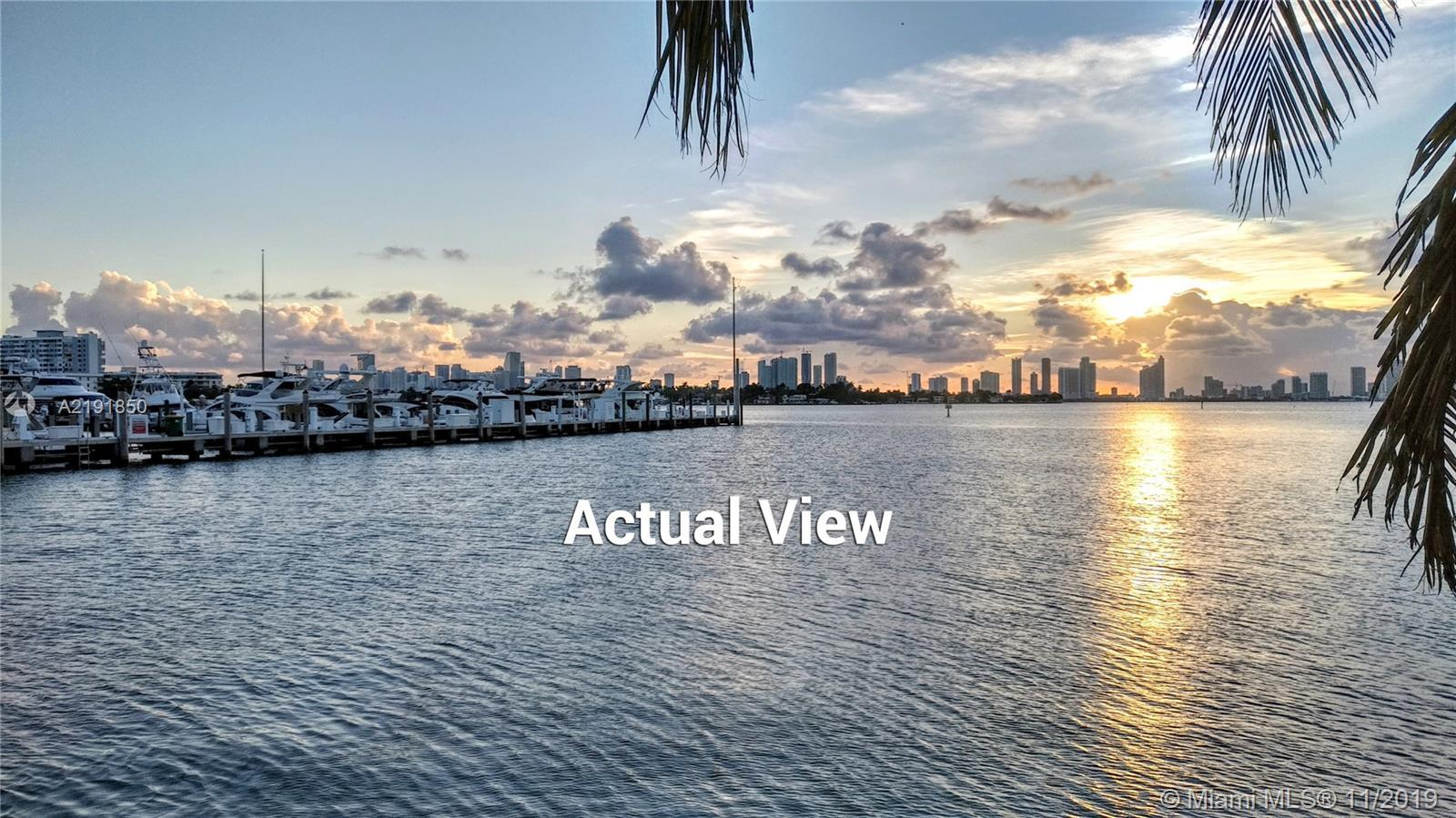 """Rare opportunity to own a corner """"A"""" location property on guard gated Sunset Island IV in Miami Beac"""