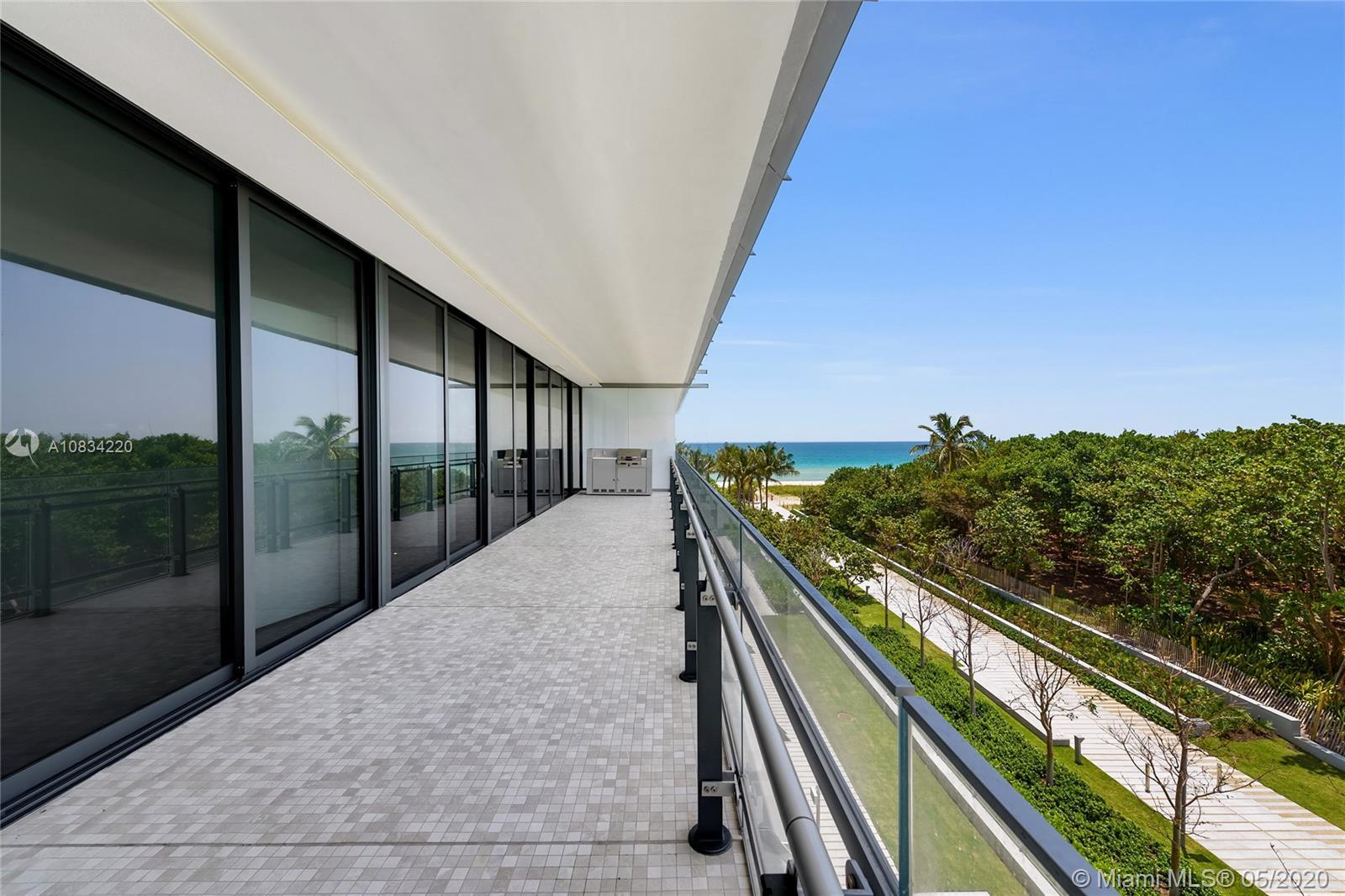 Eighty Seven Park by Renzo Piano is a collection of private oceanfront residences designed to seamle