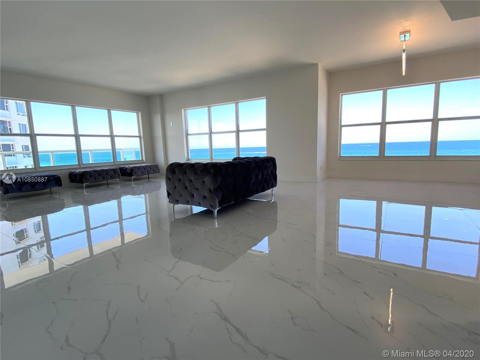 A Must See!!! One of A Kind. PANORAMIC stunning FRONT ocean views from this 9th floor 3 bedroom, 2.5