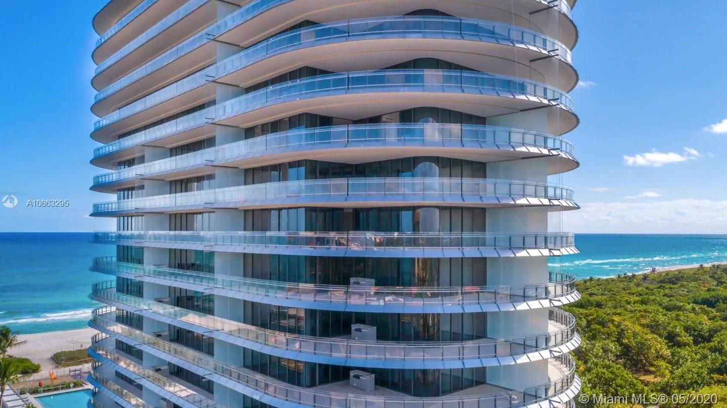 Eighty Seven Park by Pritzker award-winning architect Renzo Piano is a selection of oceanfront resid