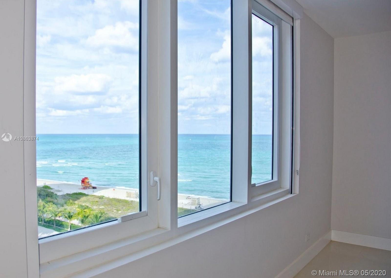Completely renovated oceanfront condo in the heart of South Beach! This spacious 1 bedroom + den off