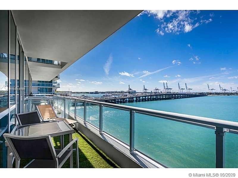 Stunning views from this Bay Front 1 Bed/1 Bath at the Iconic Bentley Bay, offering many upgrades &