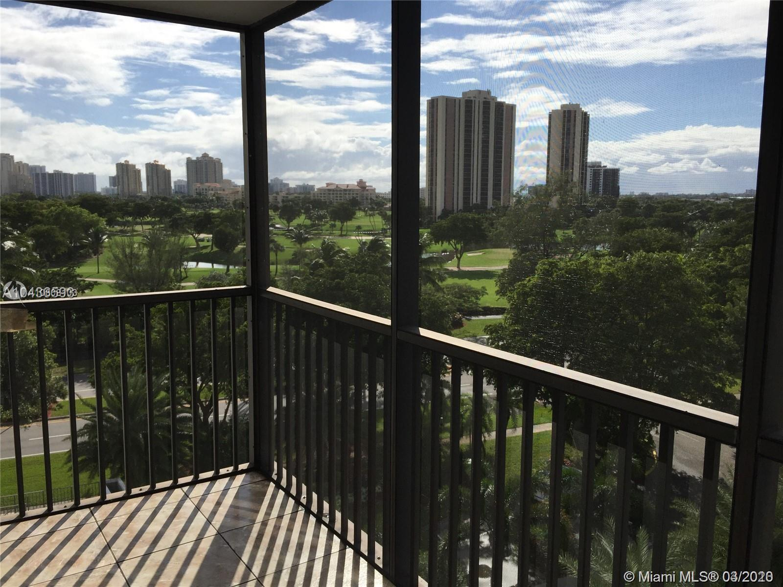 Gorgeous views of the Turnberry Golf Course from the amazing 2 bedroom 2 bath condo in the heart of