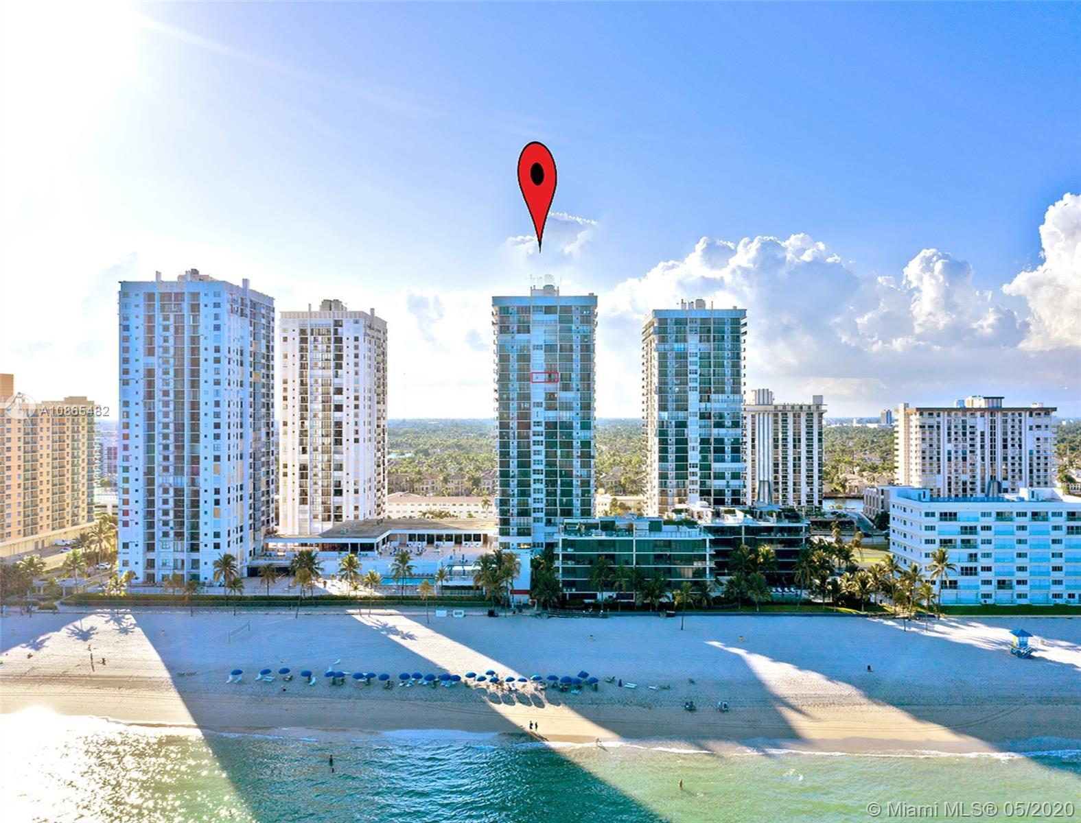 COME SEE THIS SPECTACULAR DIRECT OCEAN VIEWS AS YOU ENTER THE SPACIOUS 1 BEDROOM WITH 2 FULL BATHS.S