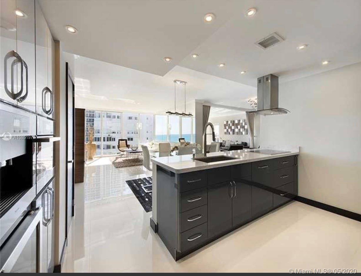 3 Bedroom Oceanfront Newly Constructed Modern Masterpiece In Bal Harbour;2 Master Bedrooms/2 Bathroo