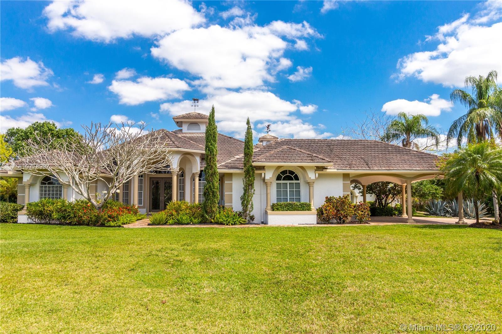 Drastic Reduction in Price. Guard gated-equestrian community of Homeland next to Wellington. Remarka