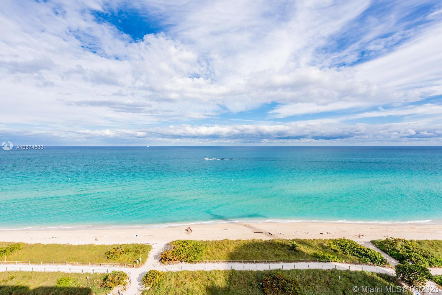 ONE OF A KIND BEACH PENTHOUSE - TOP FLOOR - UNIT WITH CAPTIVATING UNOBSTRUCTED & UNPARALLELED DIRECT