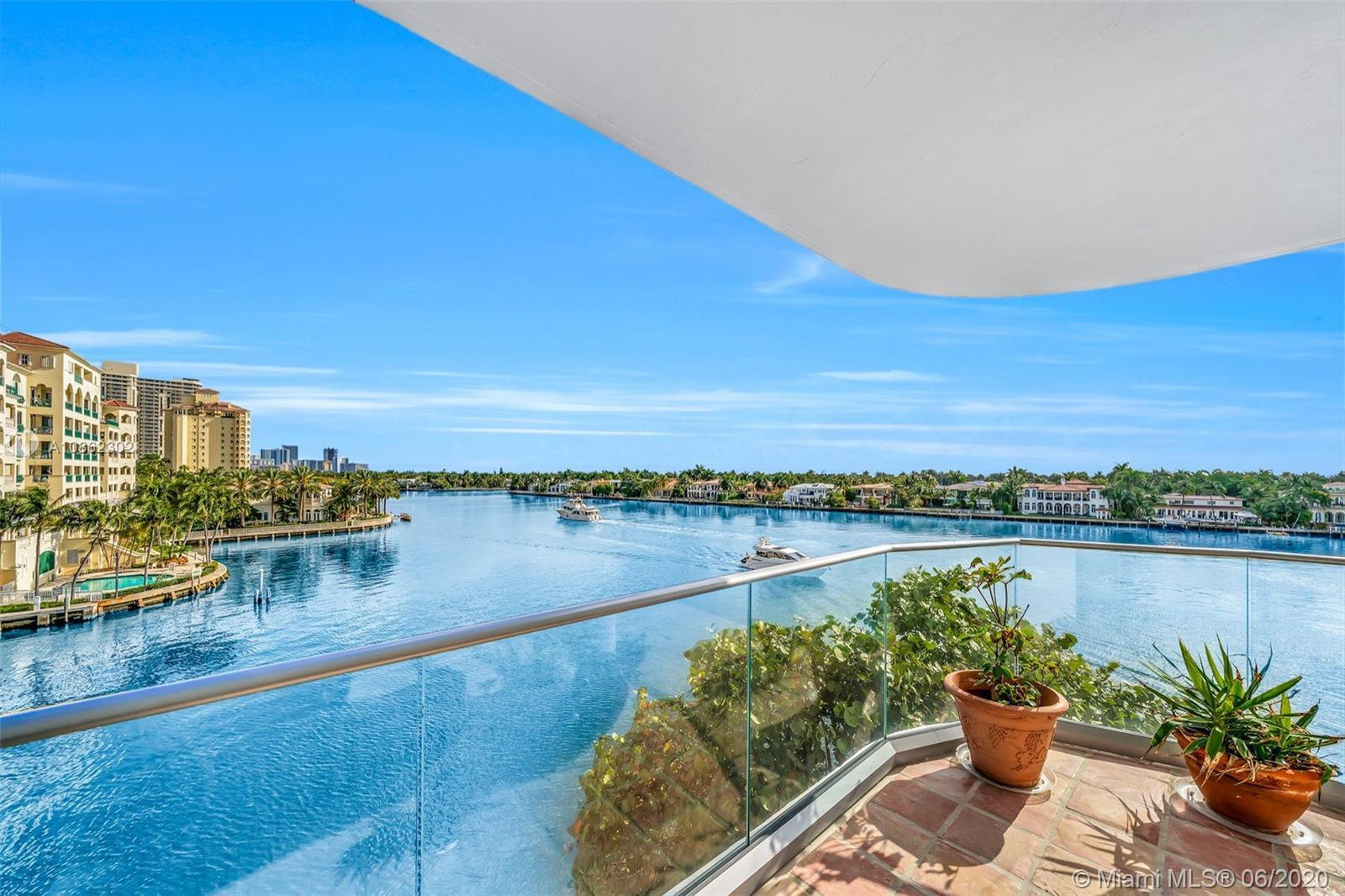 Luxurious corner unit at the Turnberry with breathtaking water views. This extremely spacious 4,200
