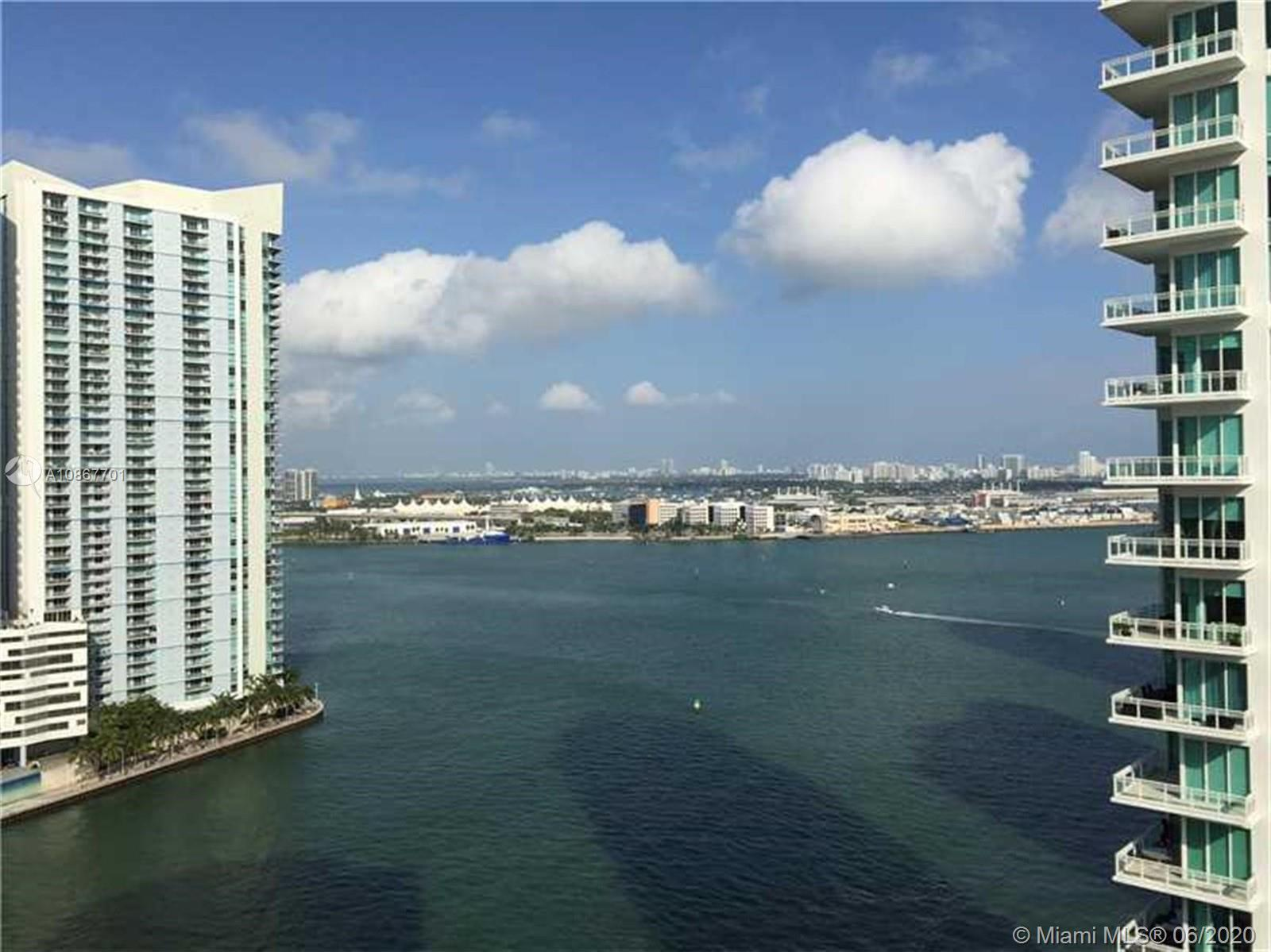 Spectacular house in the Sky! Oversized corner unit with spectacular views of Miami. This four bedro
