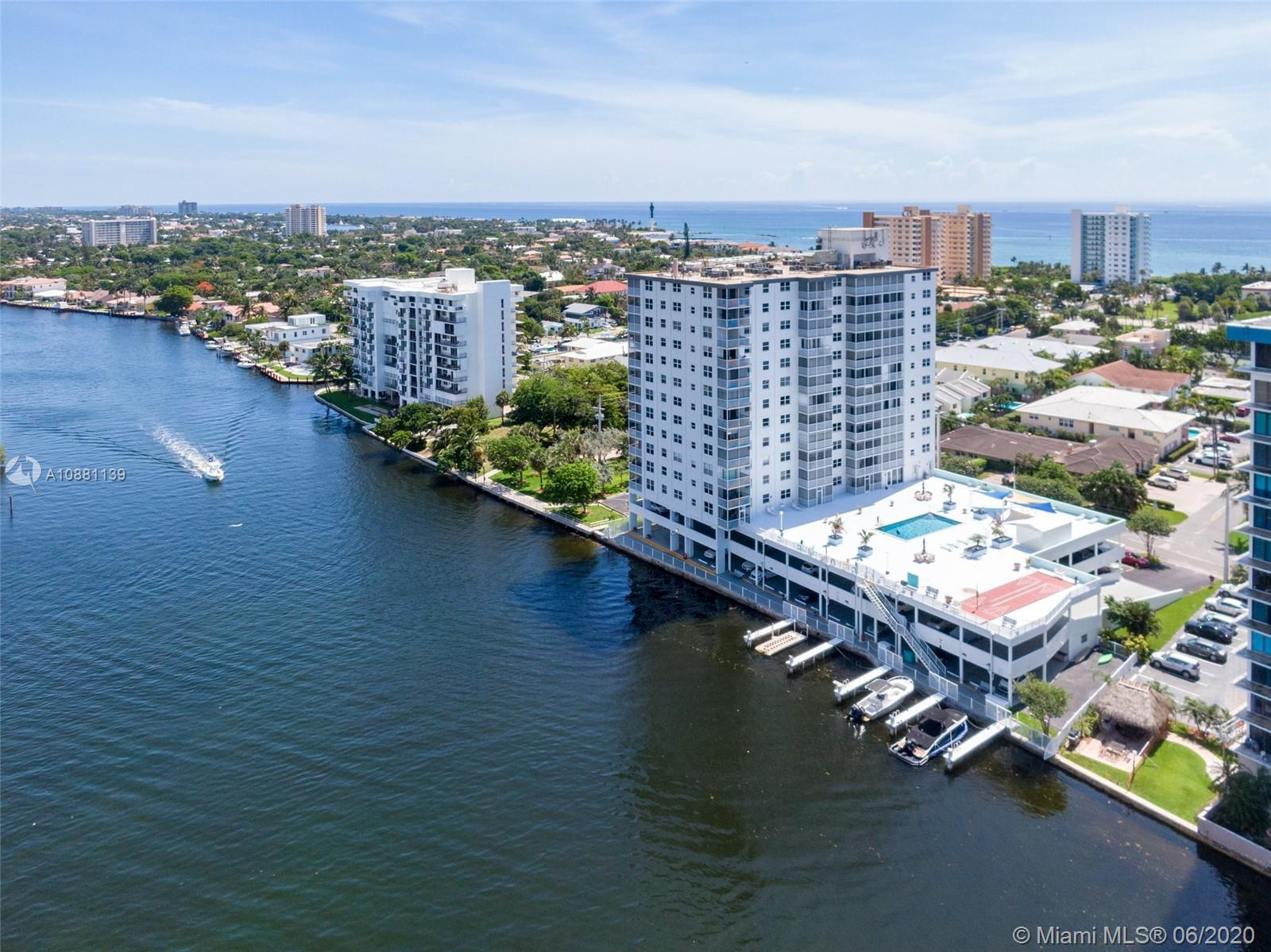 Stunning 1bed/1bath condo in the completely rebuilt from the ground up, Intracoastal Towers. Voted B