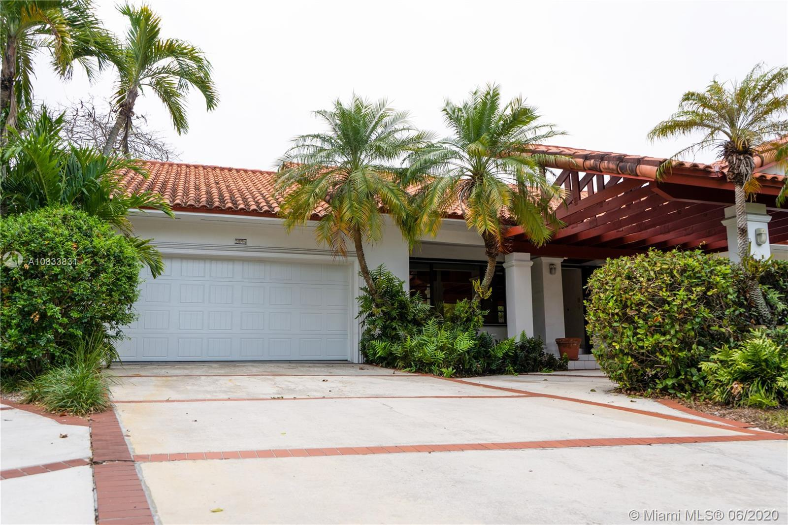Prime Location in Pinecrest, within Gables by the Sea community!  Extremely spacious, bright and el
