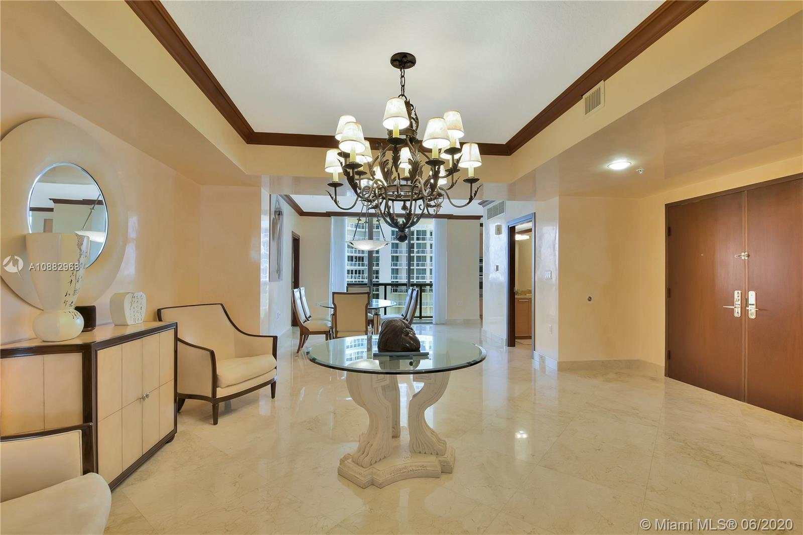 Gorgeously finished and decorated large 2 bedroom 2.5 bath oceanfront condo with a private elevator.