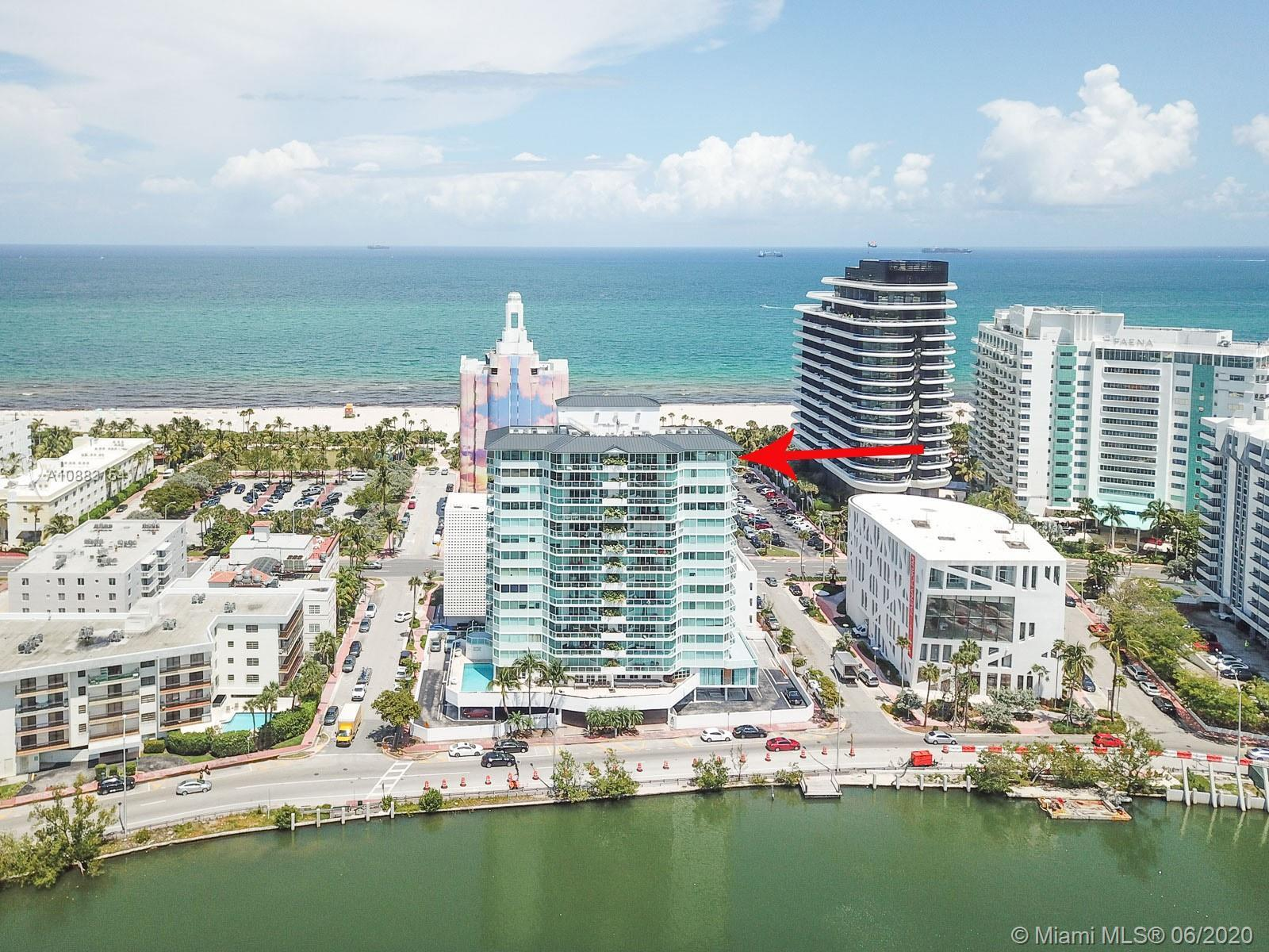 LOCATION, LOCATION, LOCATION. In the heart of Miami Beach, amazing large corner unit with 3000 sqft