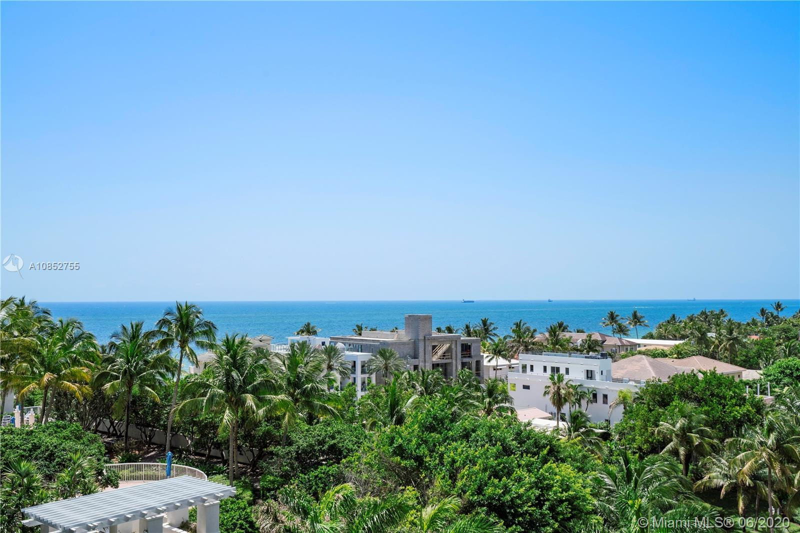 Ocean front living at its finest! This gorgeous 3/2.5 dream condo is luxuriously appointed with all