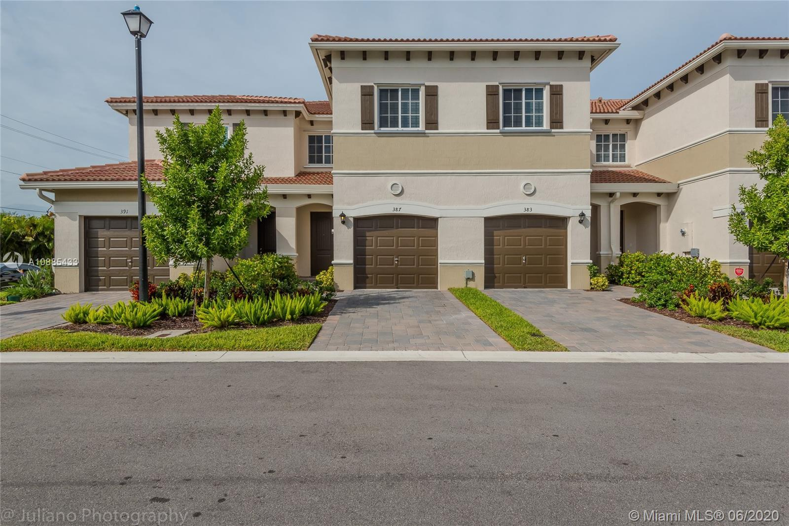 THE BRAND NEW COMMUNITY CLOSE TO THE BEACHES AND MAIN ROADS. NICE TOWNHOME WITH COVERED PATIO AND GA