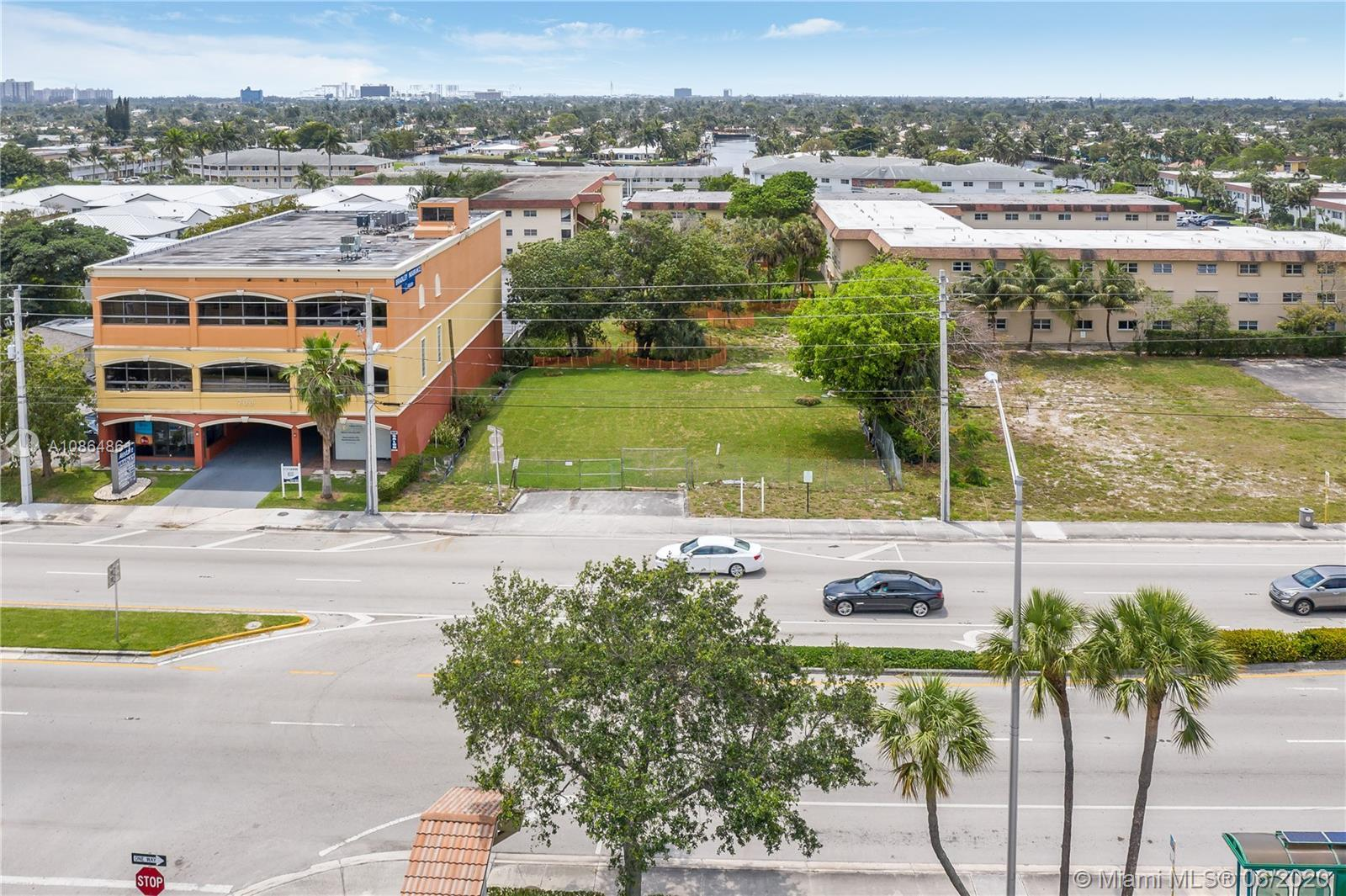 Amazing opportunity to develop this 33,000 SF Commercial lot. Front Zone B-1 and rear zoned RM-20. M