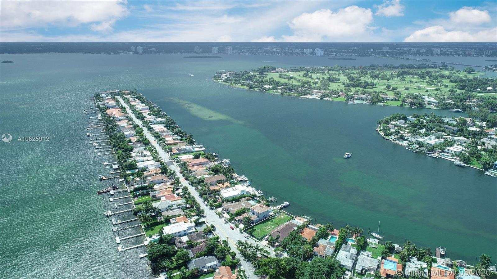 Make Offer Today! One of the best priced waterfront residential parcels available in Miami Beach. Th