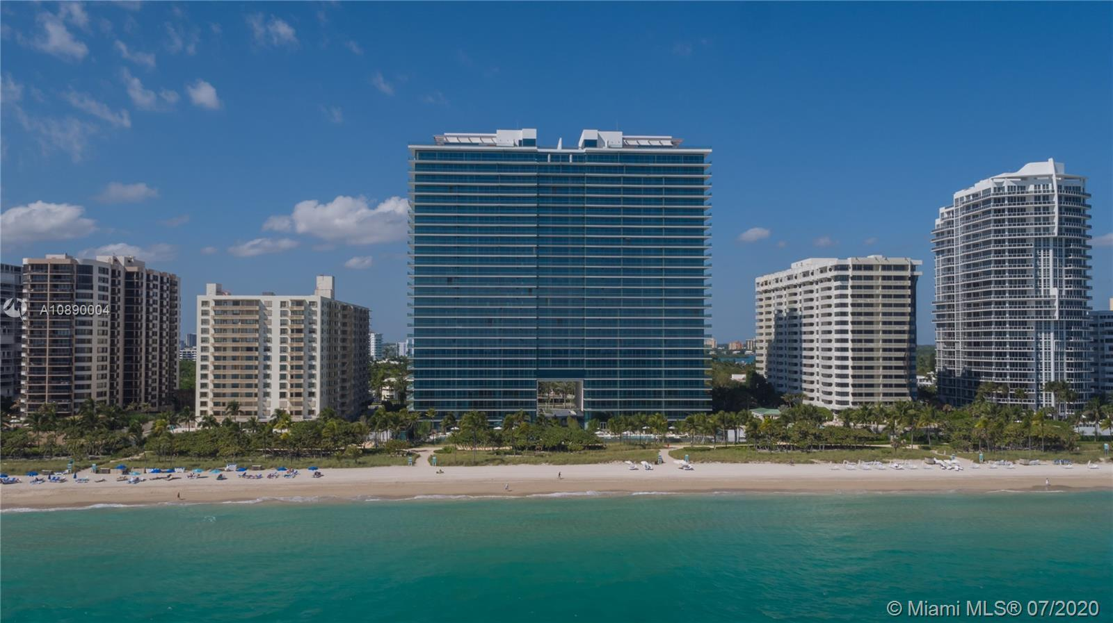 Beautiful direct ocean view at one of the most beautiful buildings in the Miami area. This amazing u