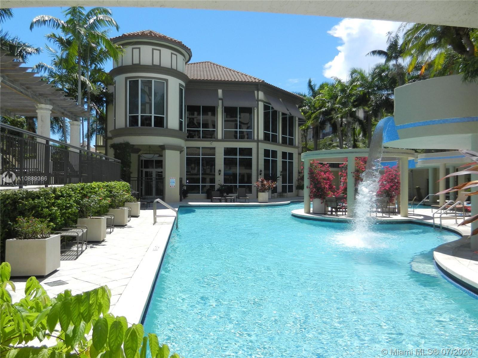 Spacious one bedroom two full bath condo plus 2 parking spots, located in the best residential compl