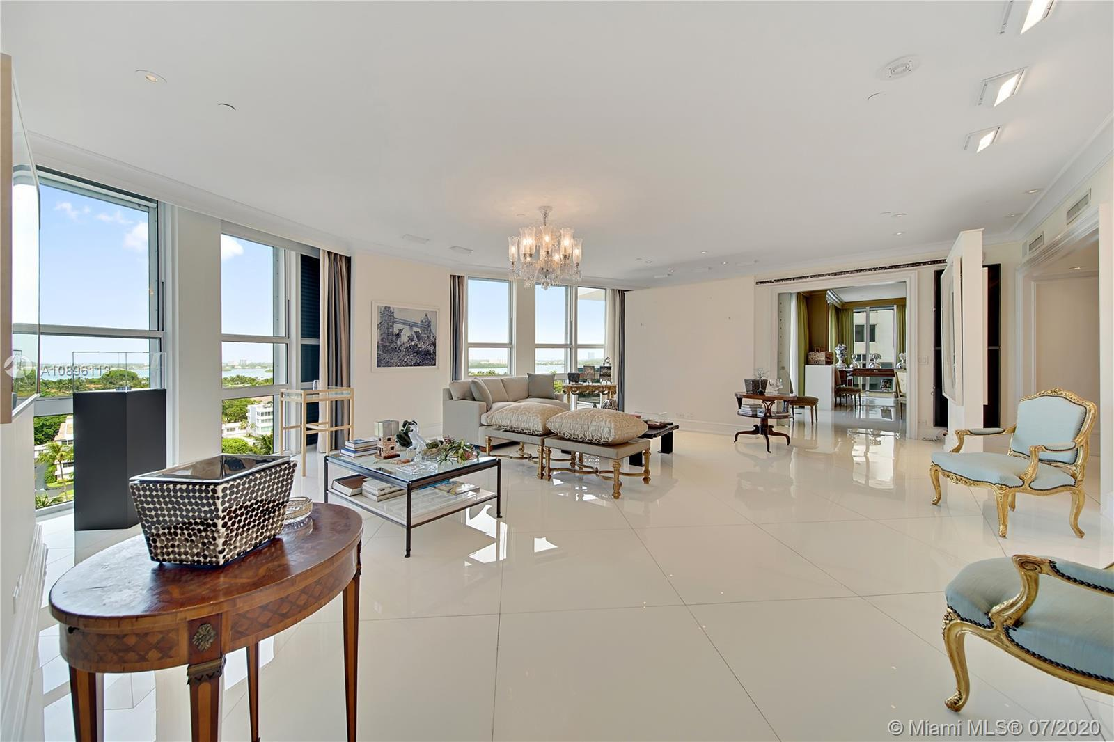 Sophistication and luxury meet in this 6 BD, 6/1 BA custom combination unit in exclusive ocean front