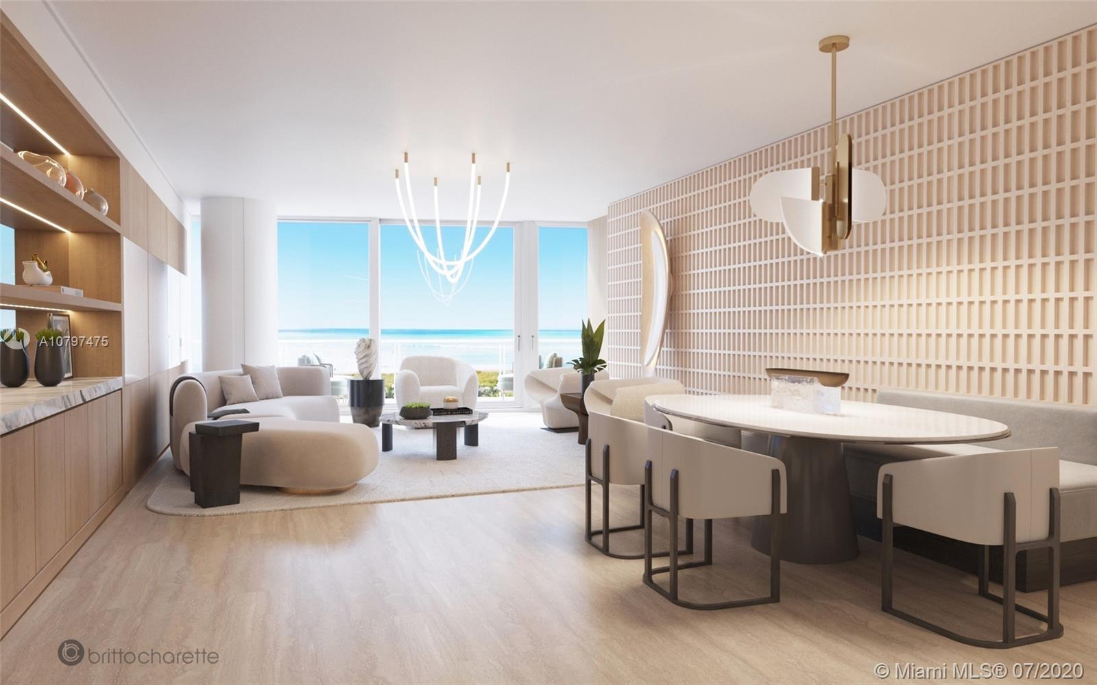 Enjoy Legendary Living at the The Surf Club Four Seasons in this stunning oceanfront residence. Priv