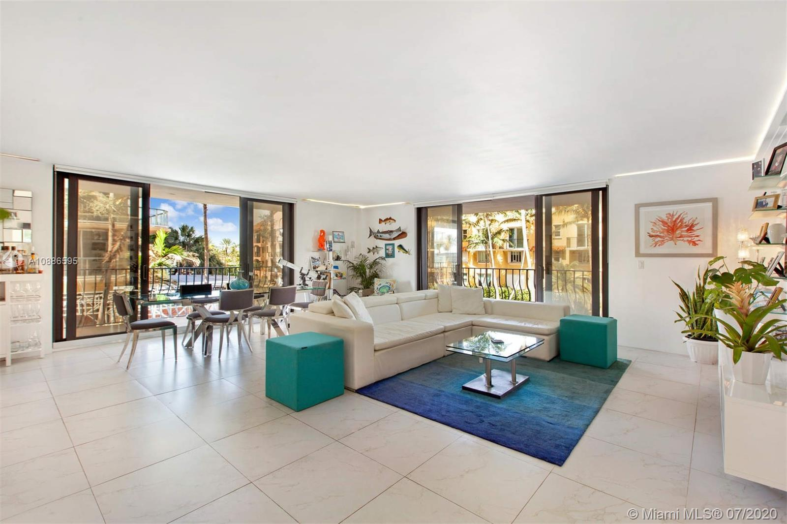Beautifully and recently gut renovated 2 bed/ 2 bath corner unit w/ with one of the largest wrap aro