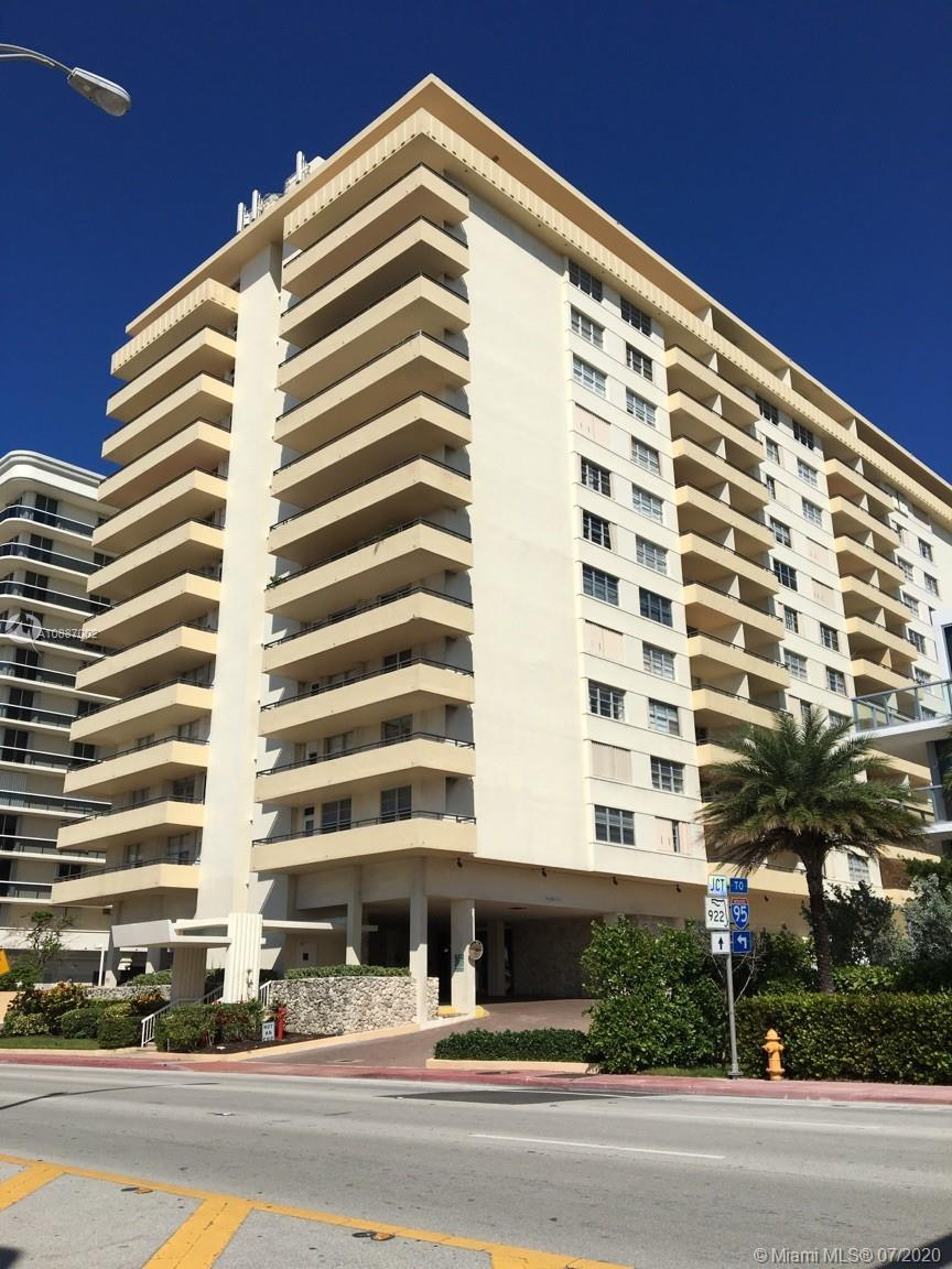 SURFSIDE TOWERS-RENOVATED BUILDING IN FABULOUS SURFSIDE! NEW LOBBY, GYM, POOL, CLUB ROOM. UPDATED &