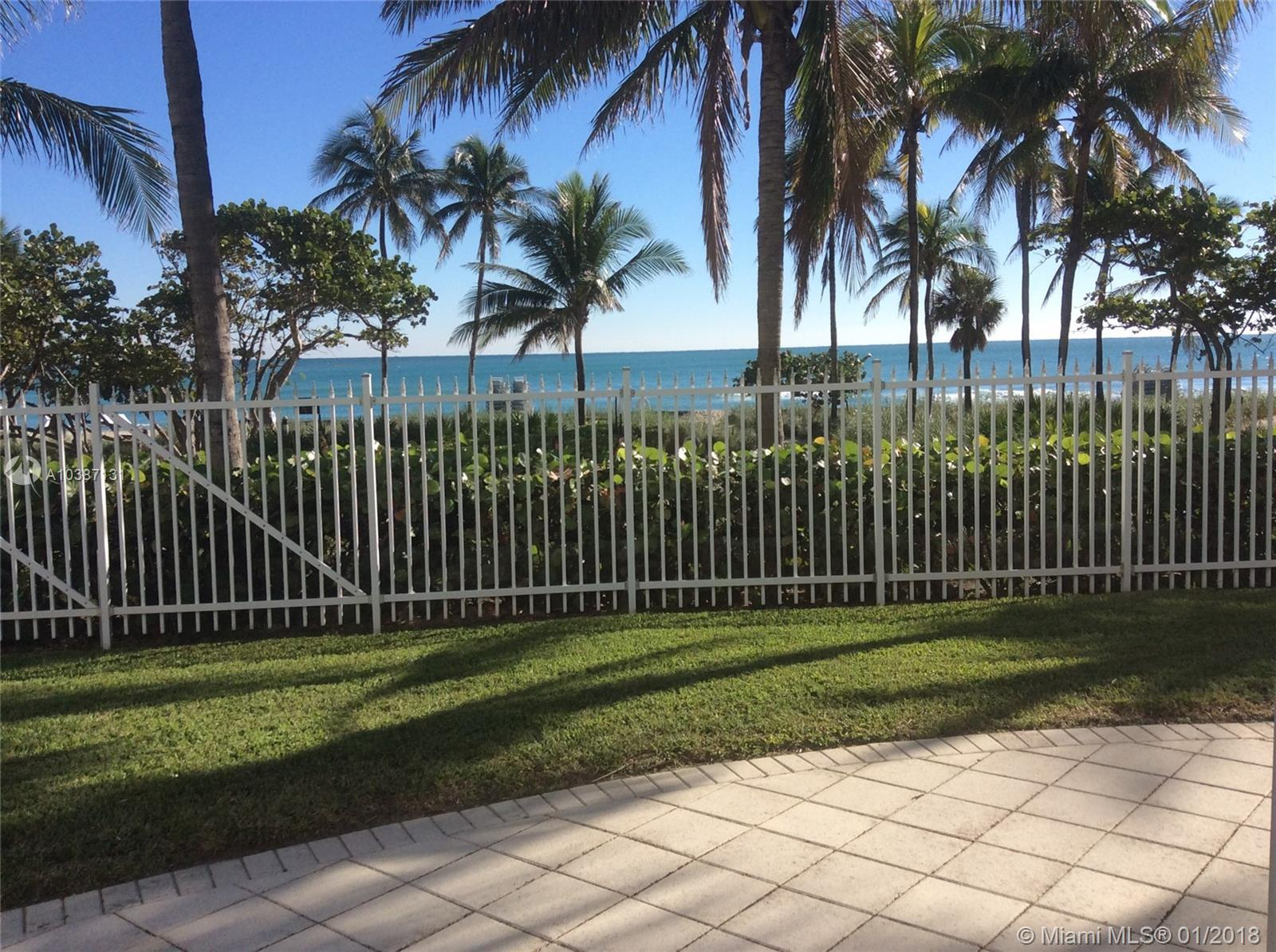 Opportunity to Lease with option to buy.  Terms open.  Oceanfront Living in Beautiful Bal Harbour at