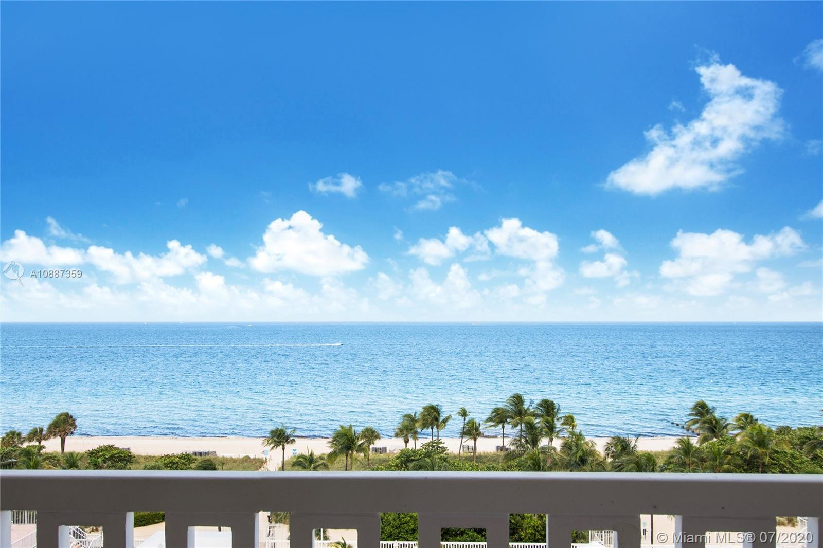 Balmoral condo located in the heart of the action, across prestigious Bal Harbour Shops, a turn key