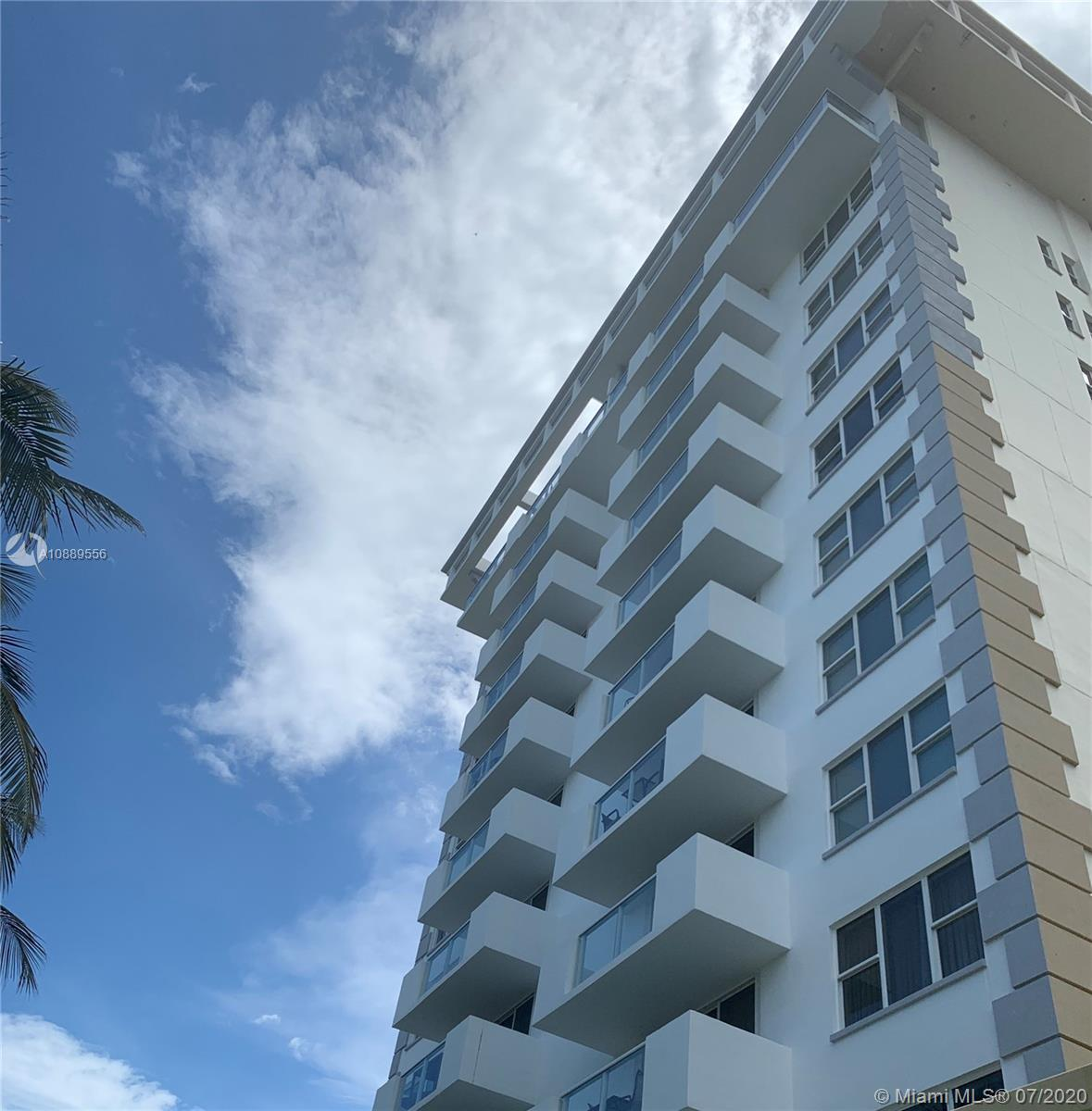 Escape to this  ocean front pad featuring  a 1 bedroom plus den with 2 baths.  1050 square feet of l