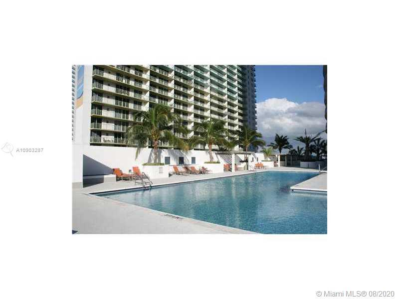 SPECTACULAR CONDO WITH CITY AND OCEAN VIEW. BIGGEST 1 BEDROOM & 1 BATH 825 sq ft,  WITH WHITE PORCEL