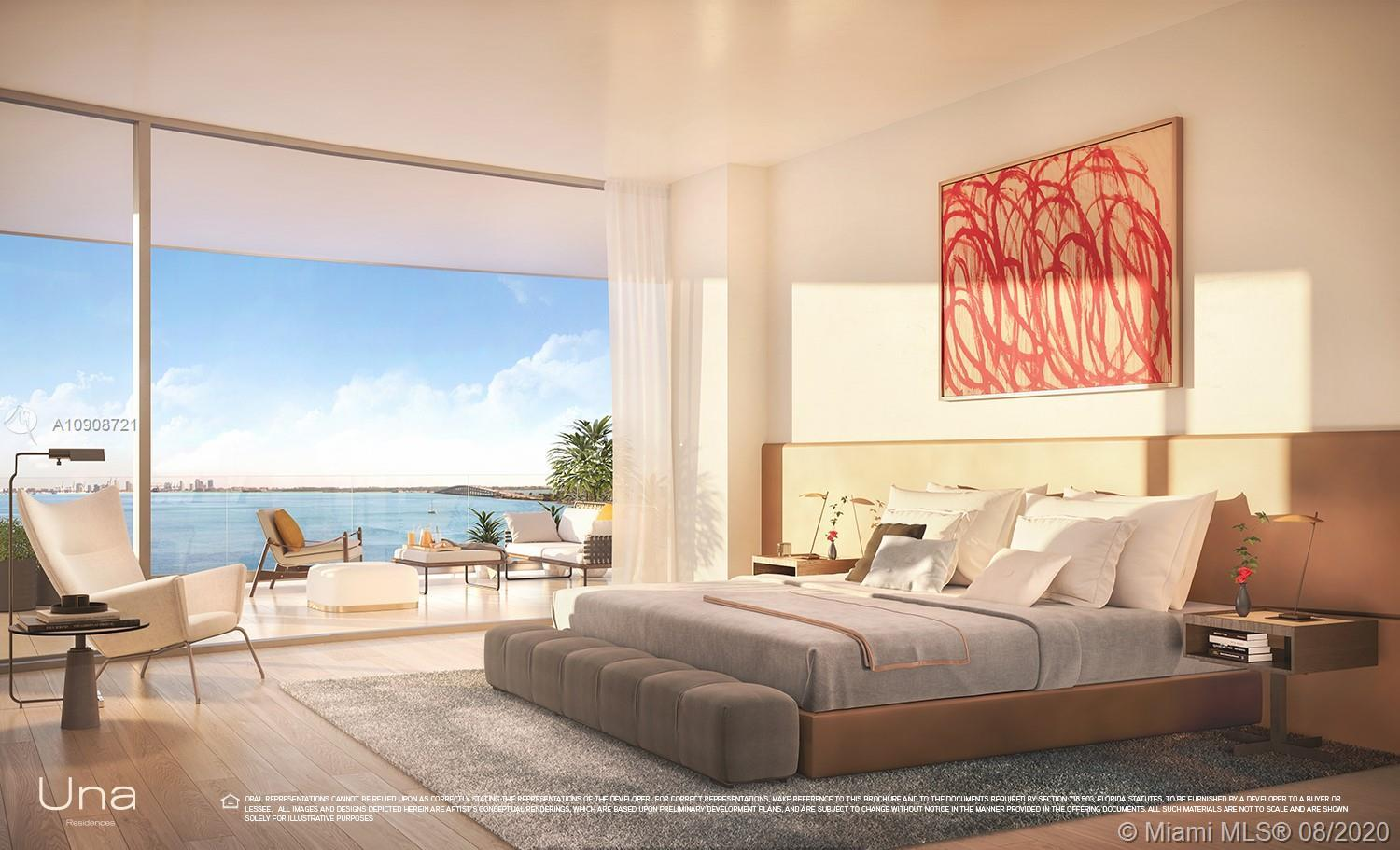 This 5 bedroom,6.5 bathroom residence has 270 degrees views of Biscayne Bay,Brickell & Coconut grove