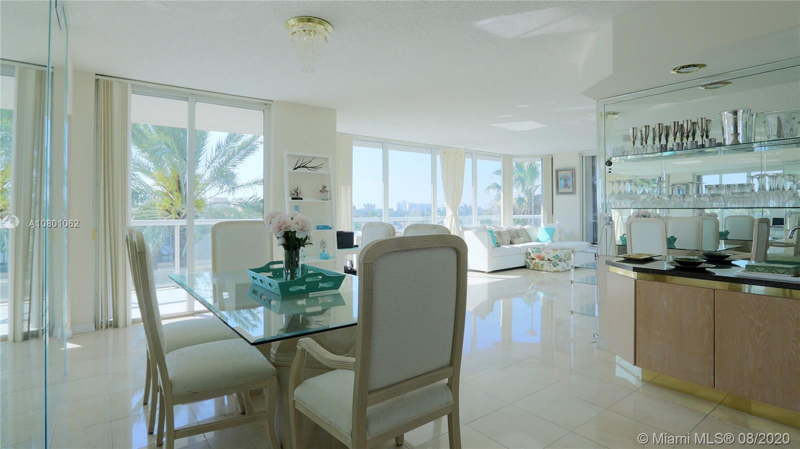 Located in the exclusive Mirage condo building in Surfside (right on the beach). Come see this brigh