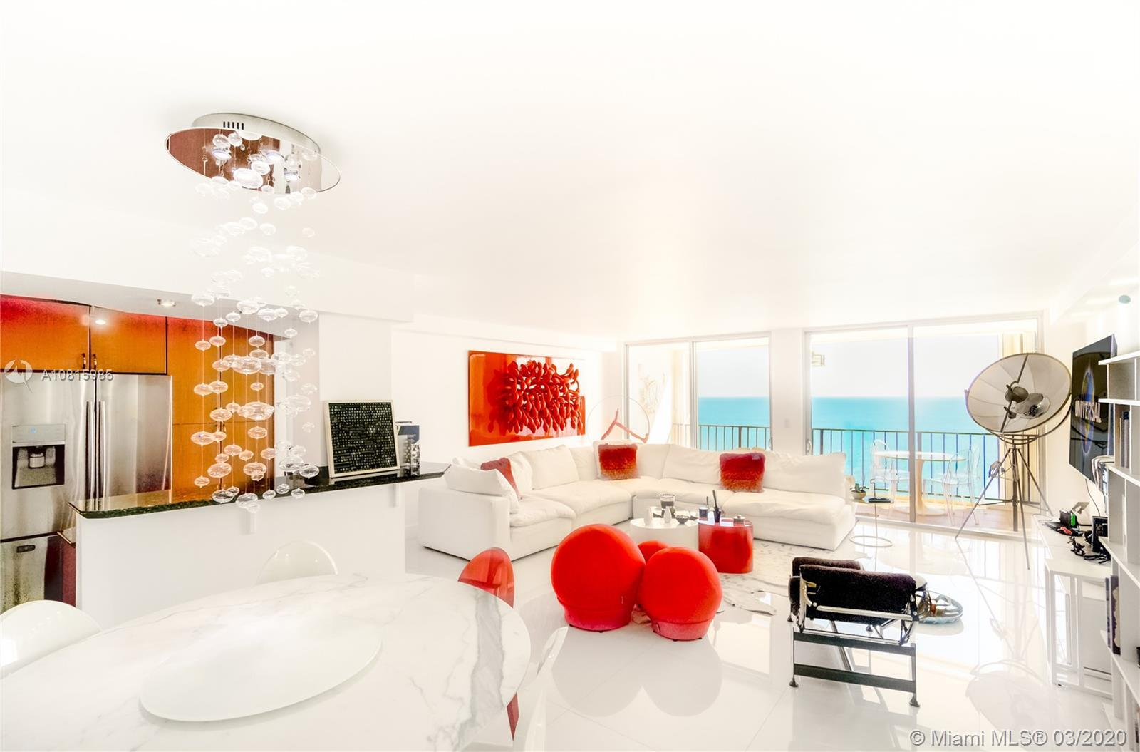 Truly one-of-a-kind ,Mint condition.Open concept condo with sweeping direct Ocean views from all roo