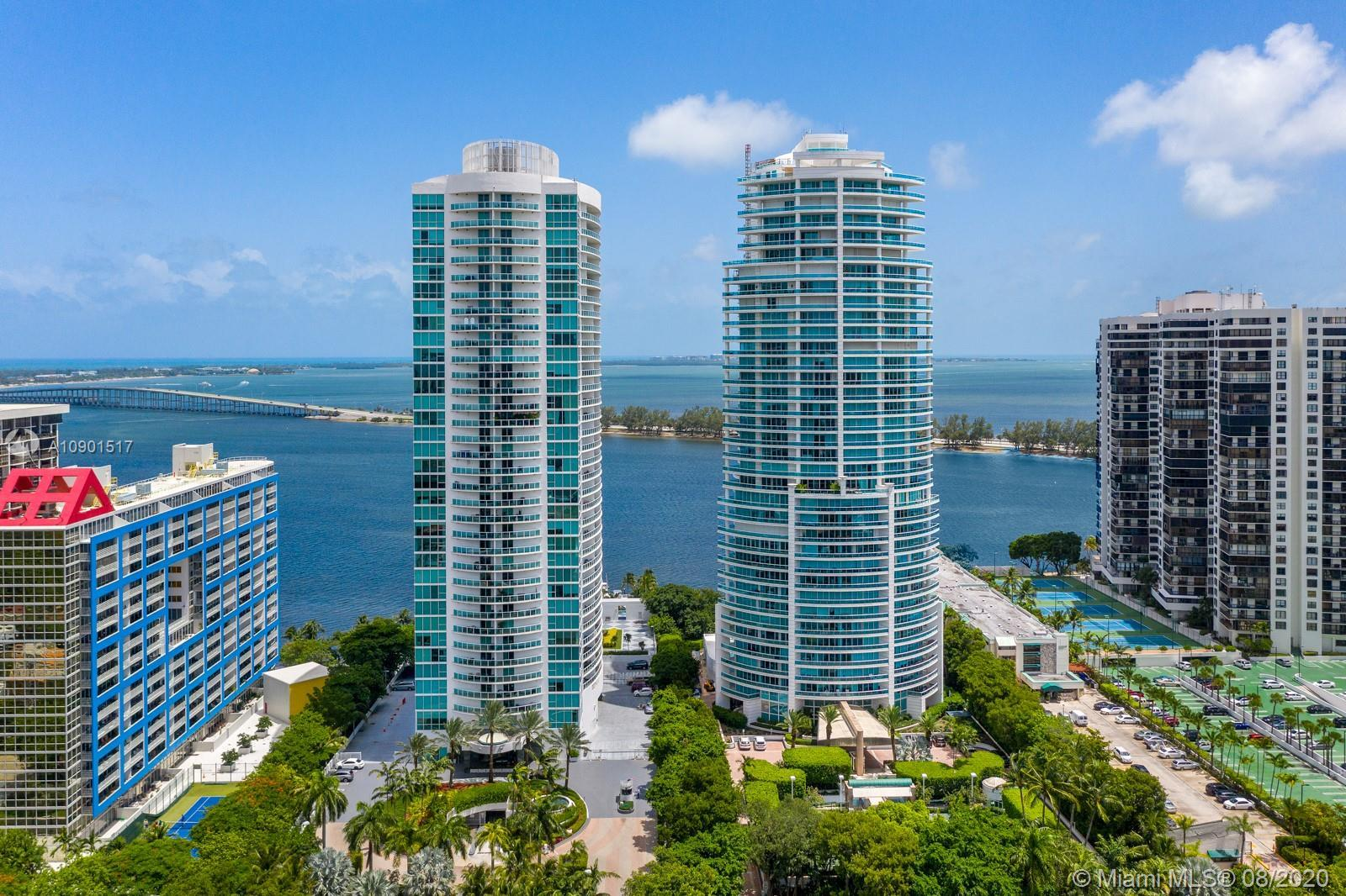 Developed by Ugo Colombo this signature building, located on S Brickell, is minutes away from Coconu