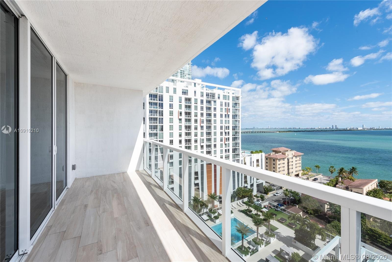 Amazing South East Corner 3 Bedroom/2.5 Bath unit with stunning bay and city views. This Unit includ