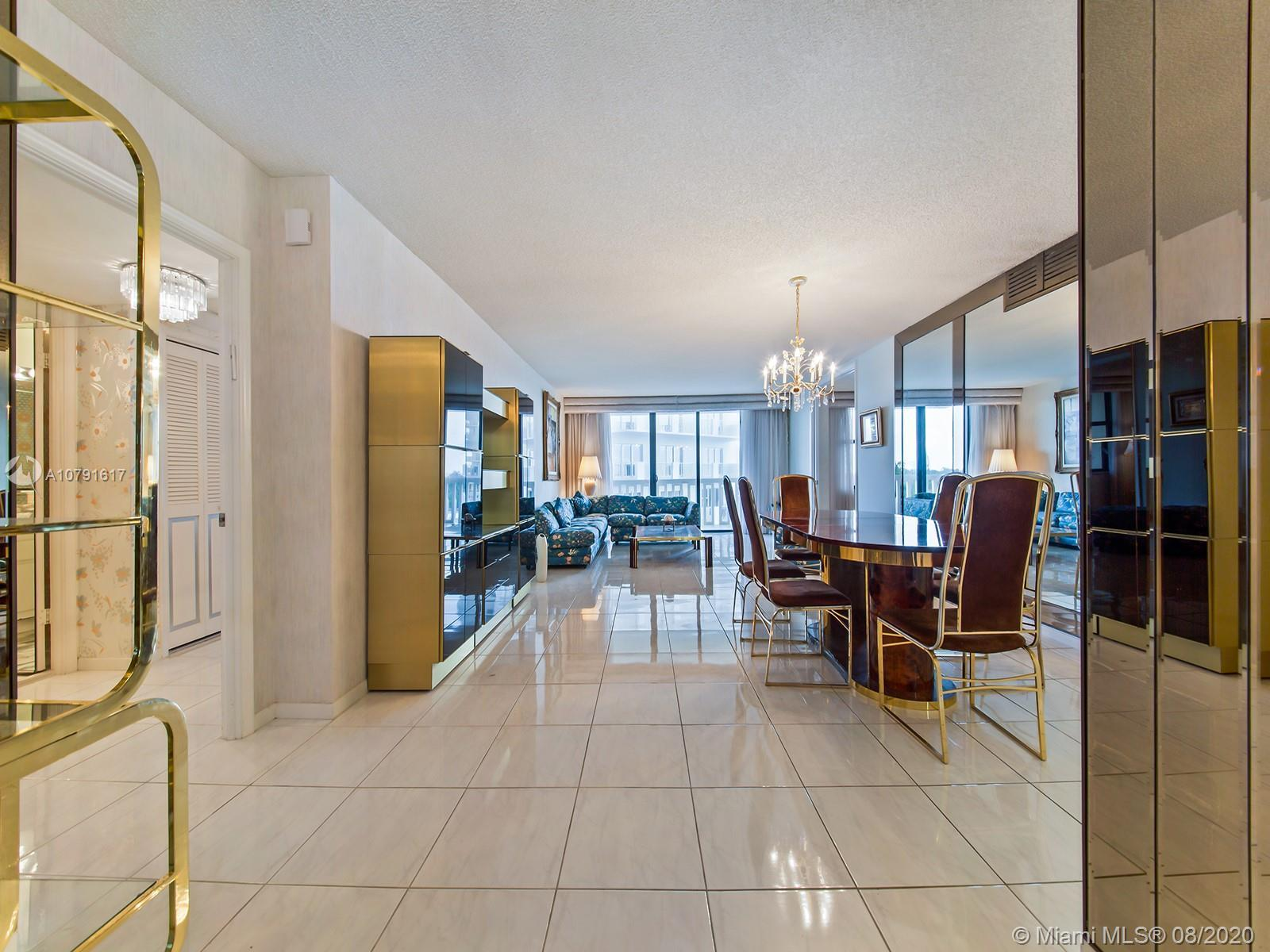 Amazing Deal in one of the best building in Bal Harbour. Convenient 6th floor with beautiful wide oc