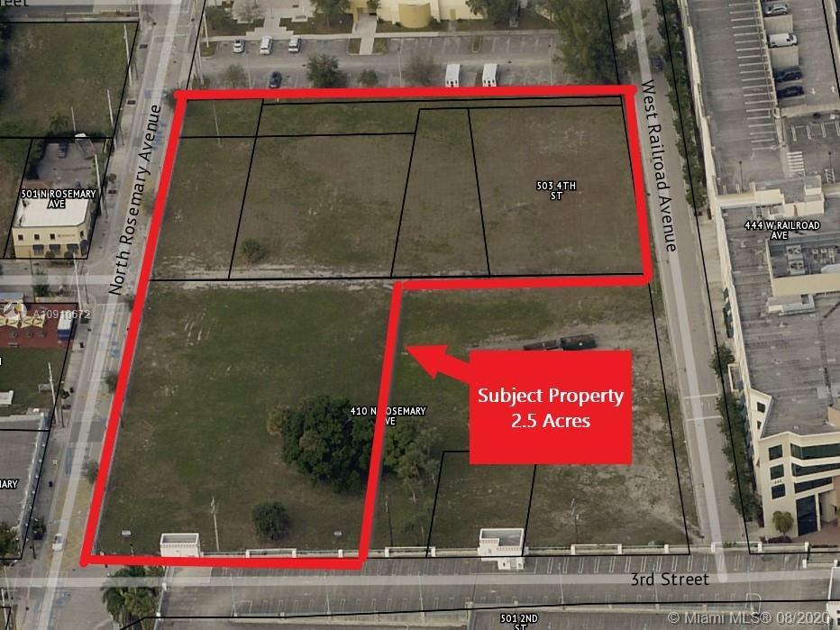EXCELLENT INVESTMENT OPPORTUNITY TO BUY LAND WITH RESIDENTIAL AND COMMERCIAL ZONING. The lot consist