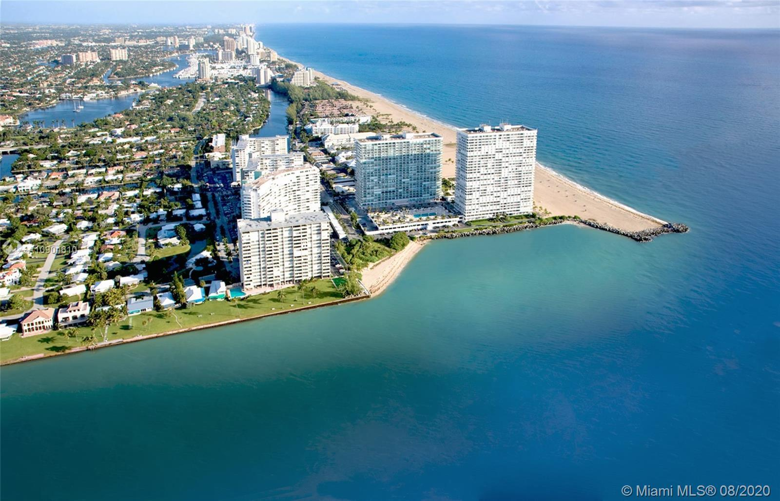 Enjoy stunning ocean, inlet, cruise ship and coastal views south to Miami and north to the Hillsboro