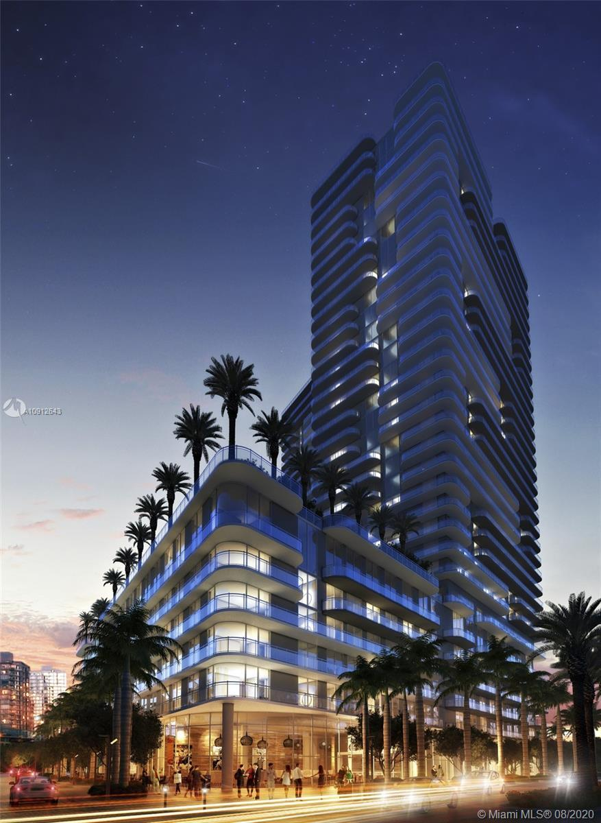 Amazing 2 bedroom 2 bathroom unit on The Hyde Midtown, Miami's latest in high end condominiums provi