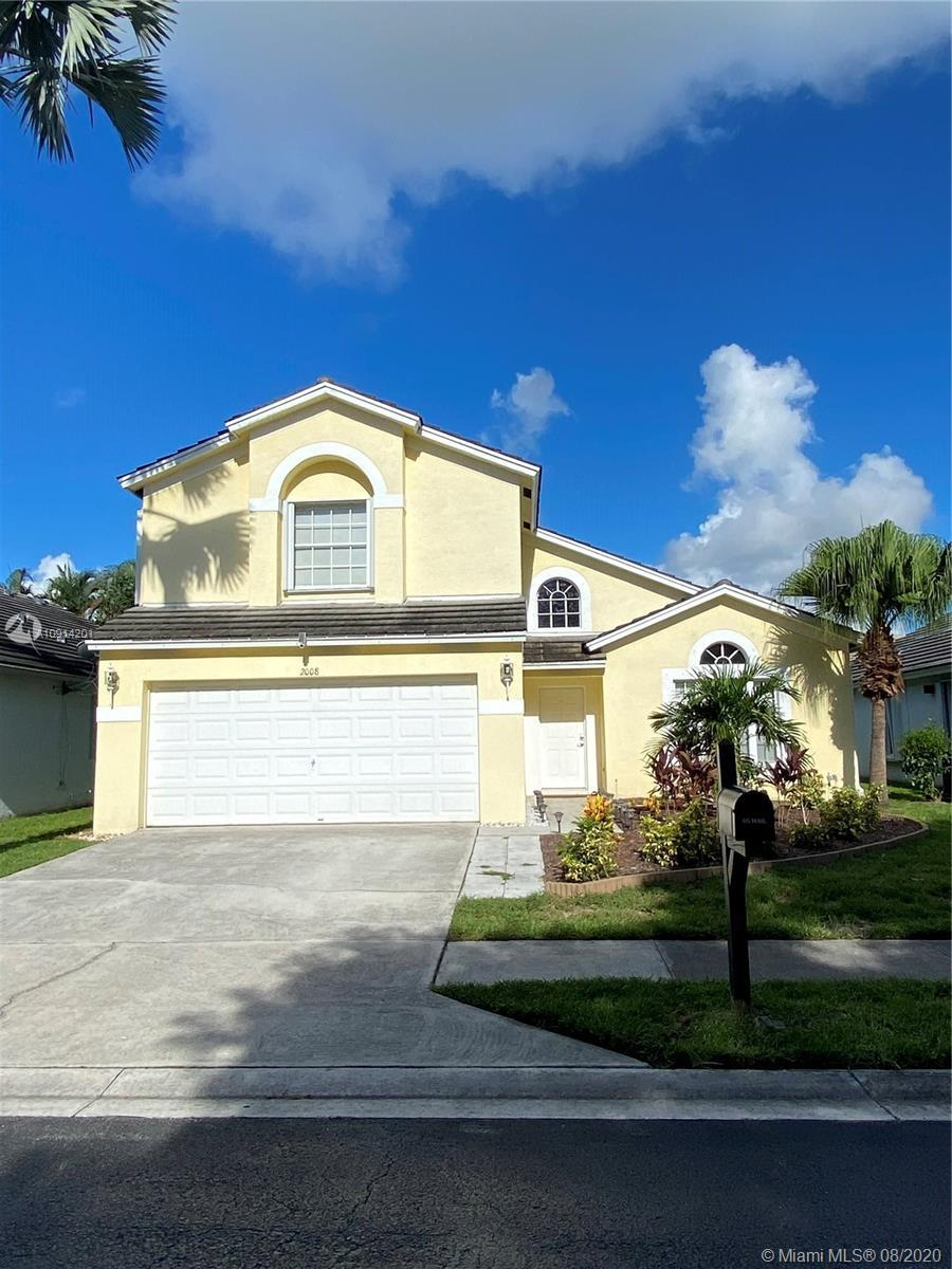 Beautiful two-story home in West Palm Beach. This wonderful property has a fully renovated kitchen!