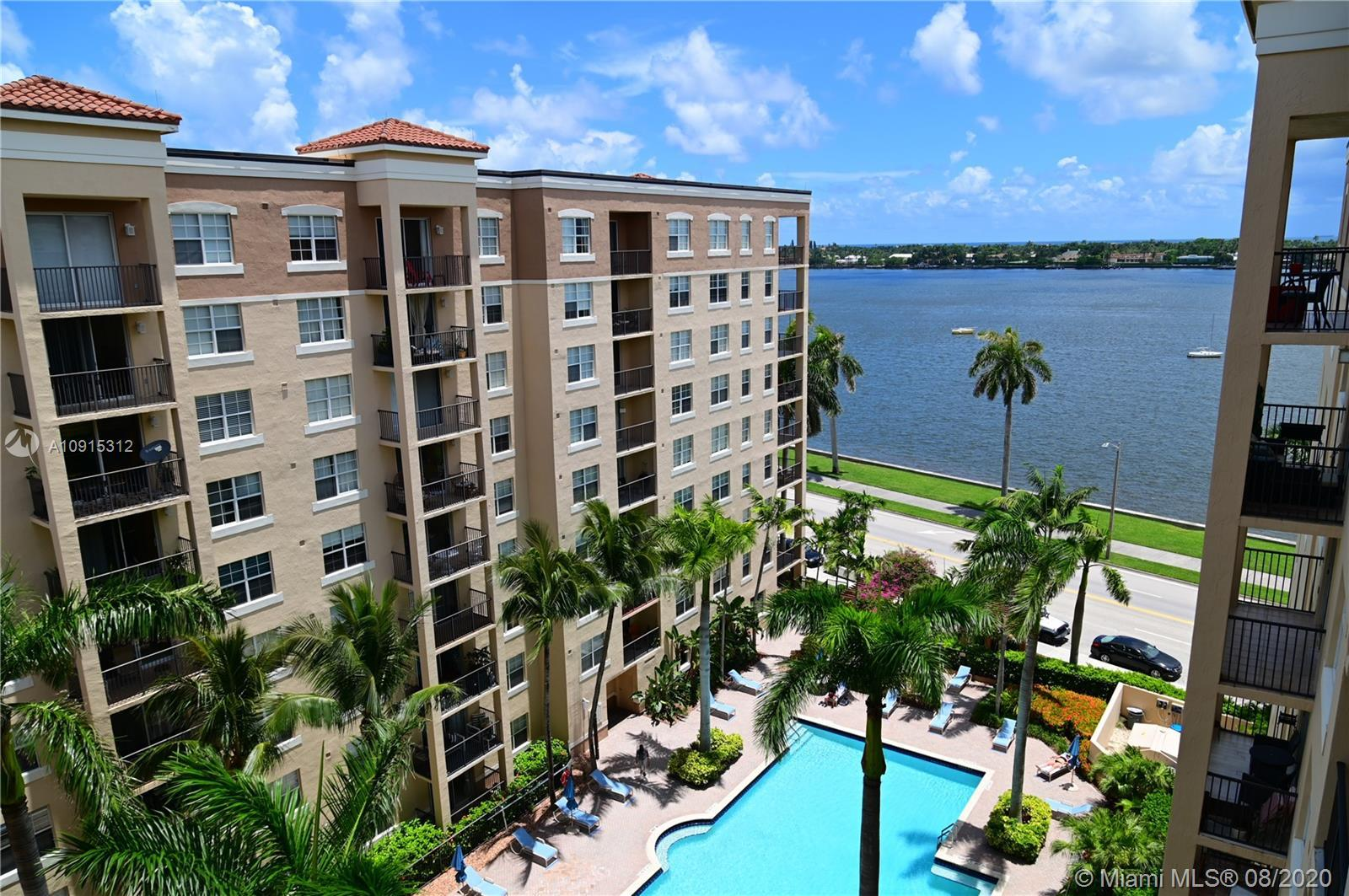 This exceptional top-floor penthouse condo features high ceilings and intracoastal, ocean, & pool vi