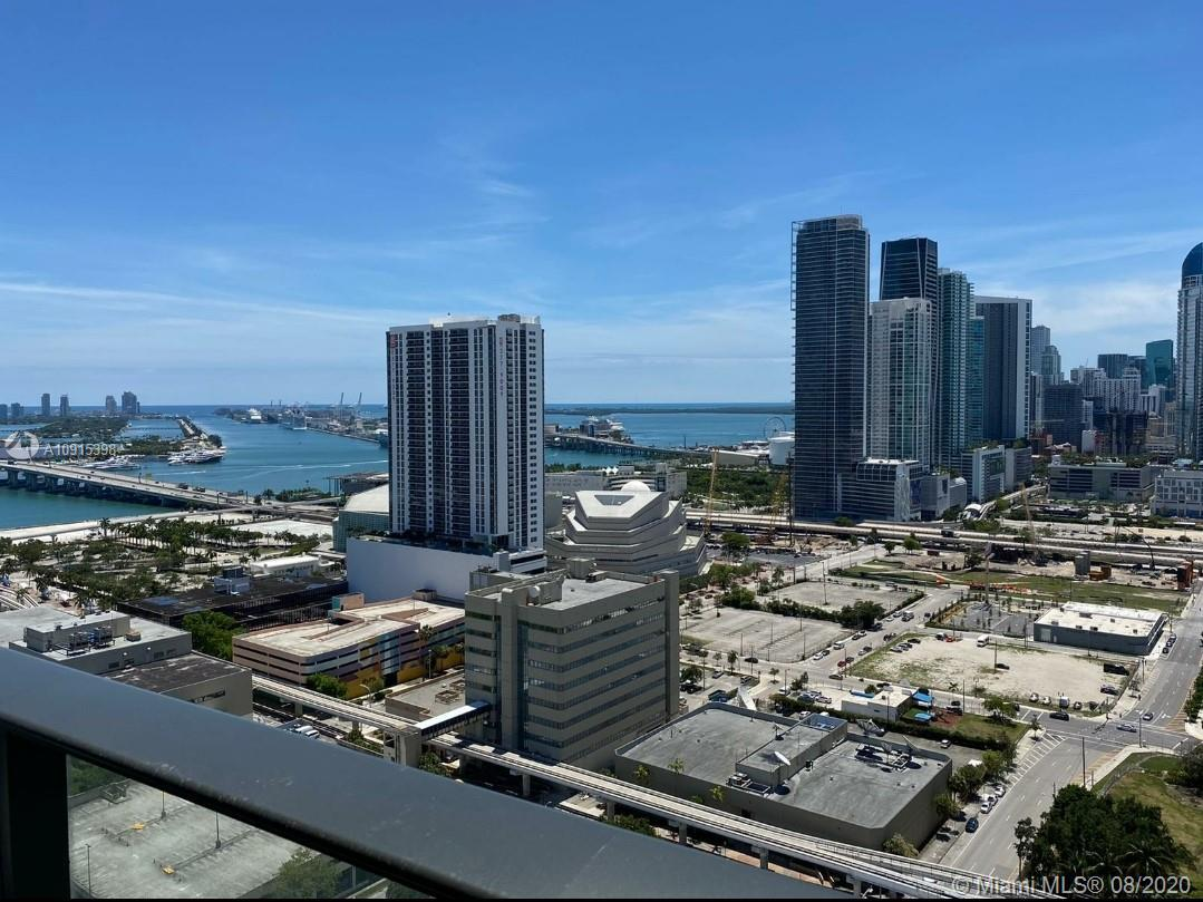 FURNISHED unit in Canvas Condo. Best view in the building. 2bed /2bath split layout unit with open k