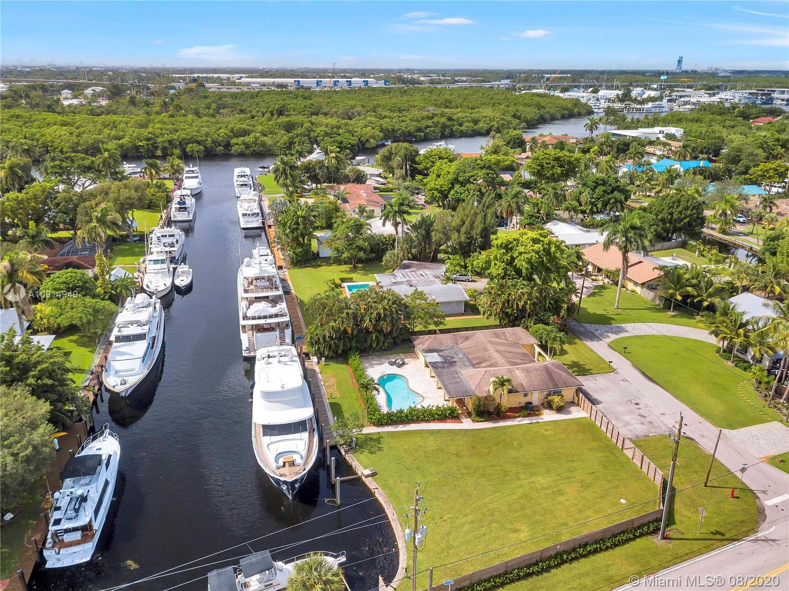 BRING YOUR YACHT HOME!!! Stop paying docking fees. Dock your 135' yacht here. Property features 156'